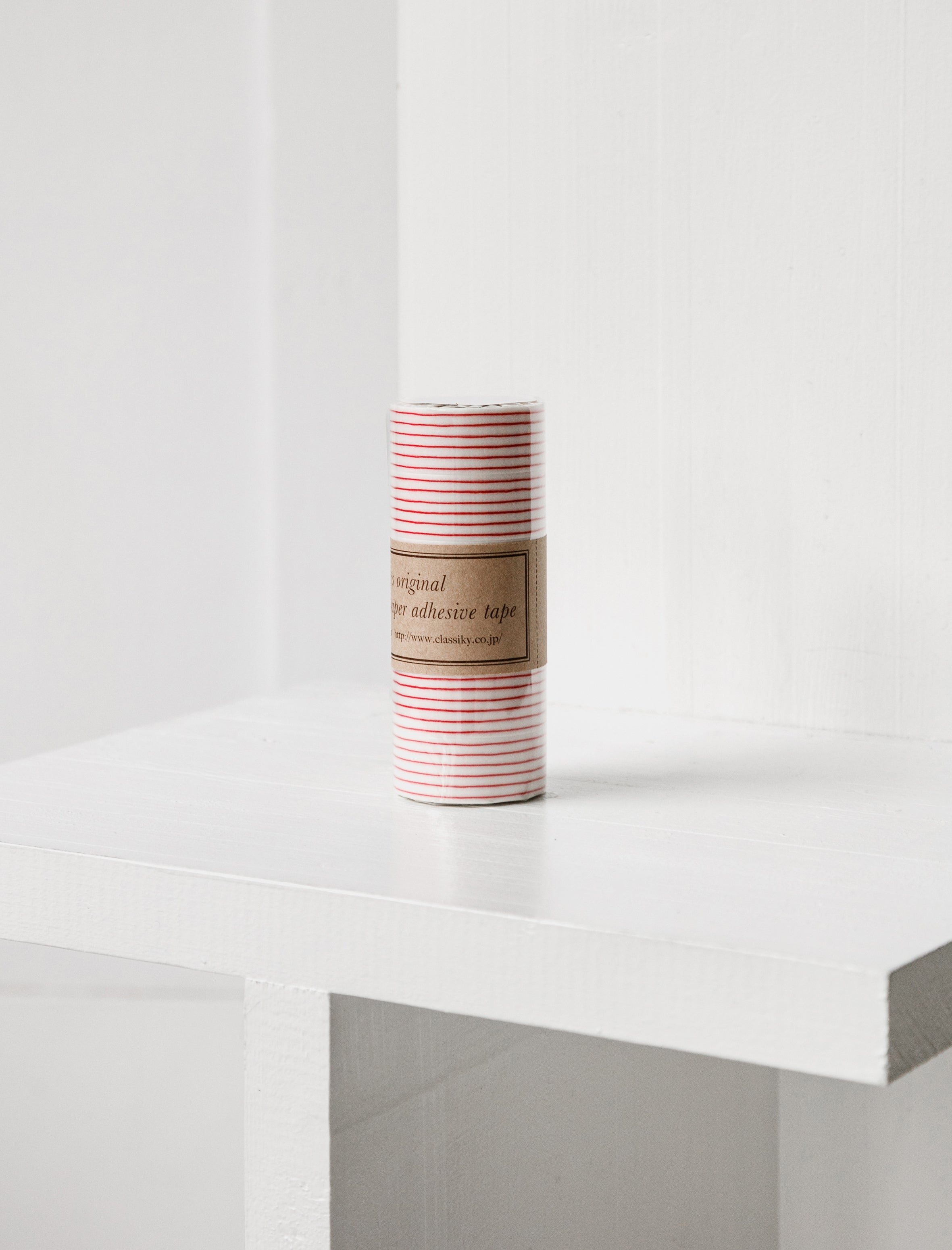 Washi Tape Red Stripes