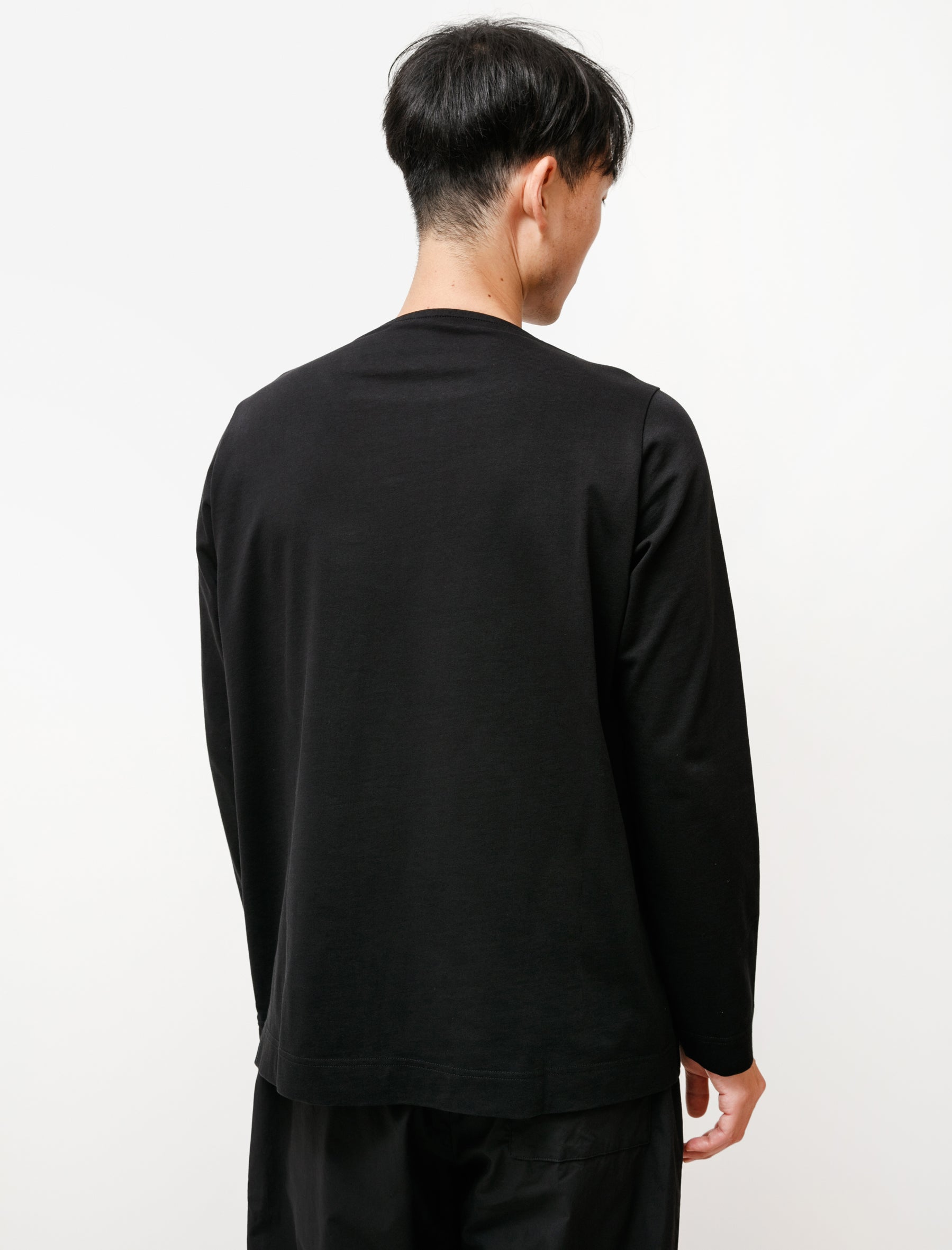 Casey Casey T/S Oliver ML Jersey Black