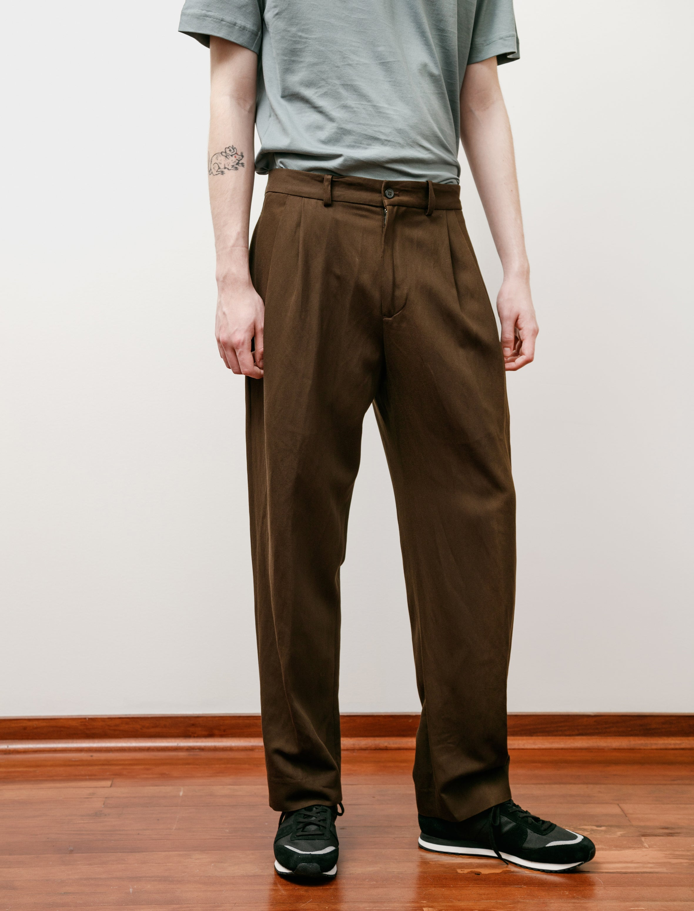 Stephan Schneider Trousers Praxis Brown