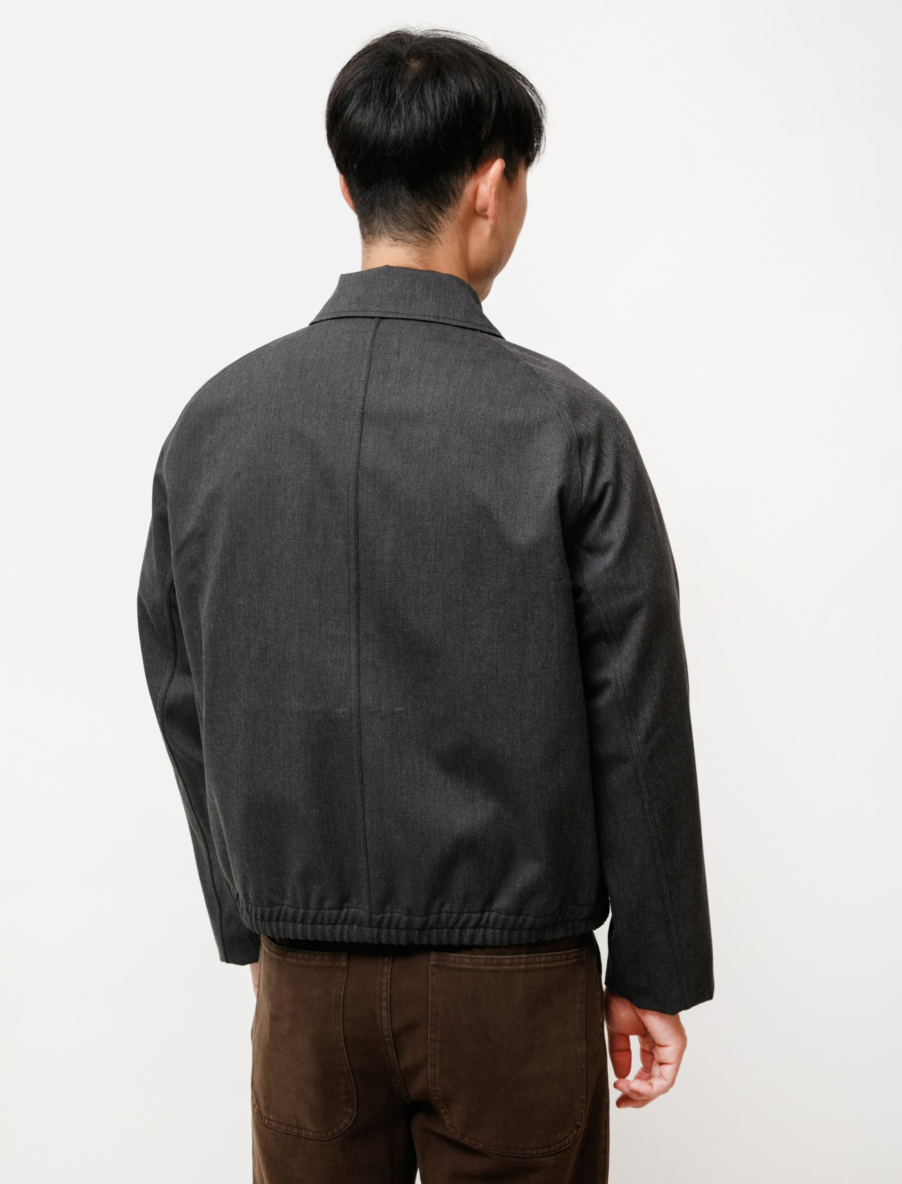 Lemaire Military Blouson Anthracite