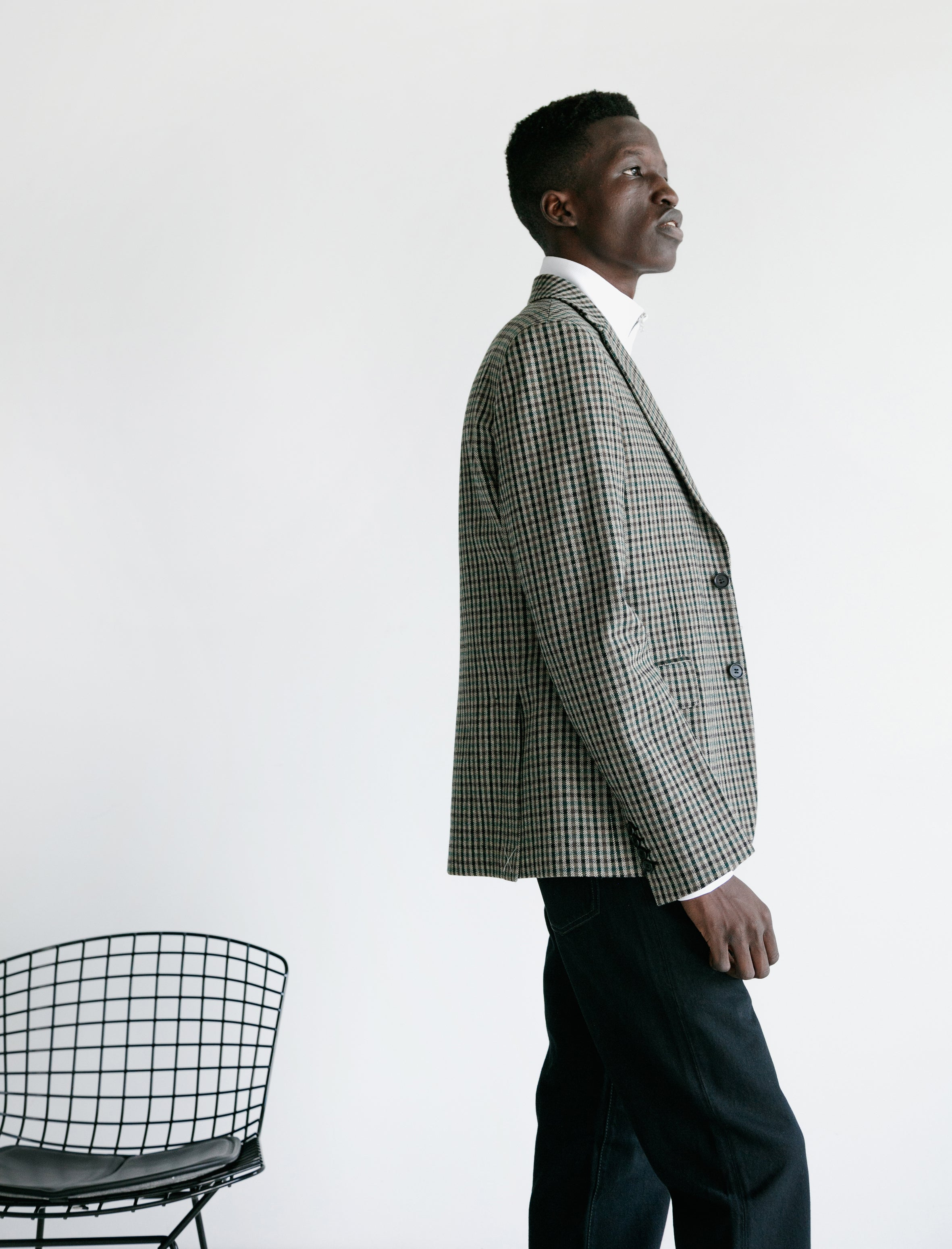 Acne Studios Jaison JV Check Jacket