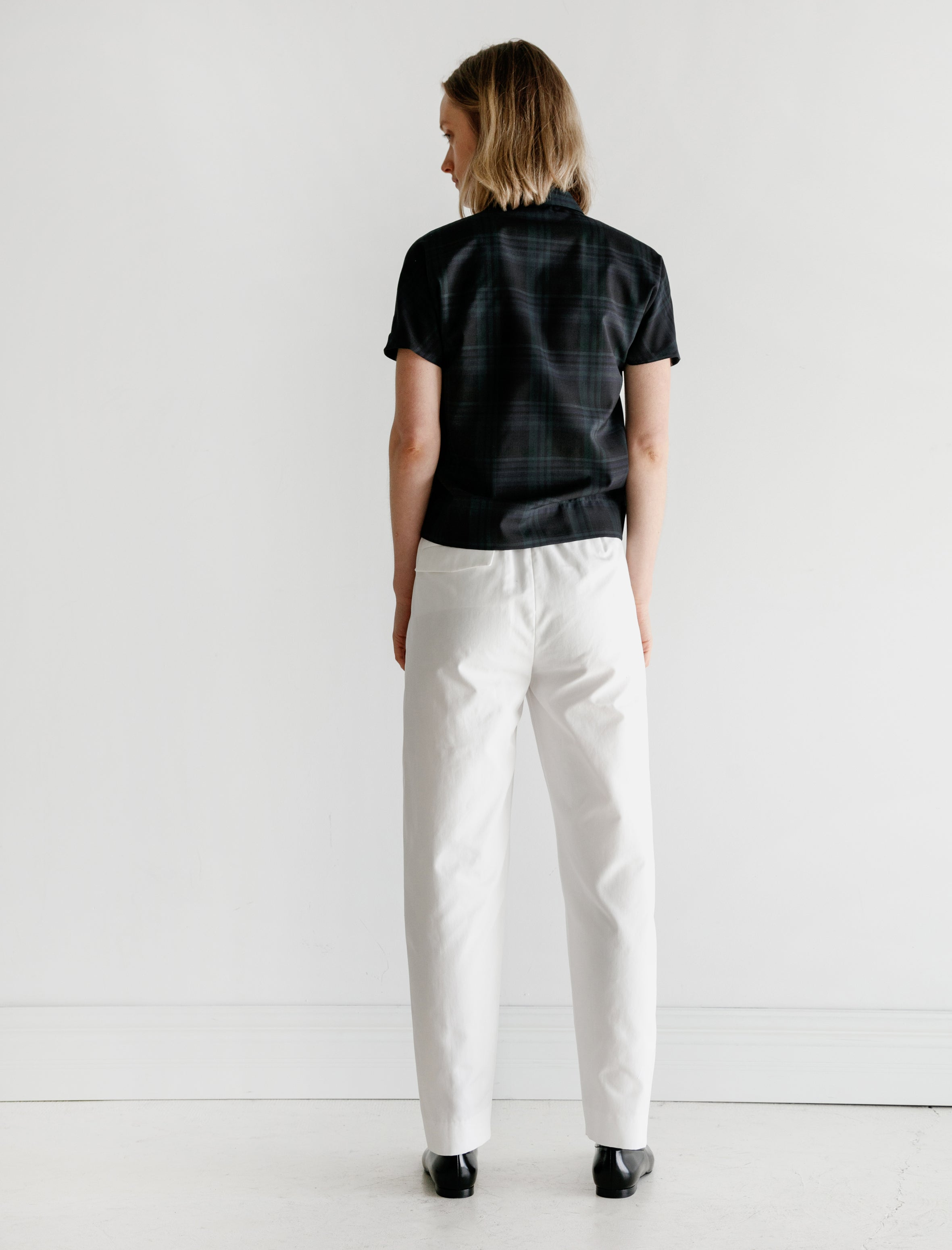 Stephan Schneider Trousers Visible White