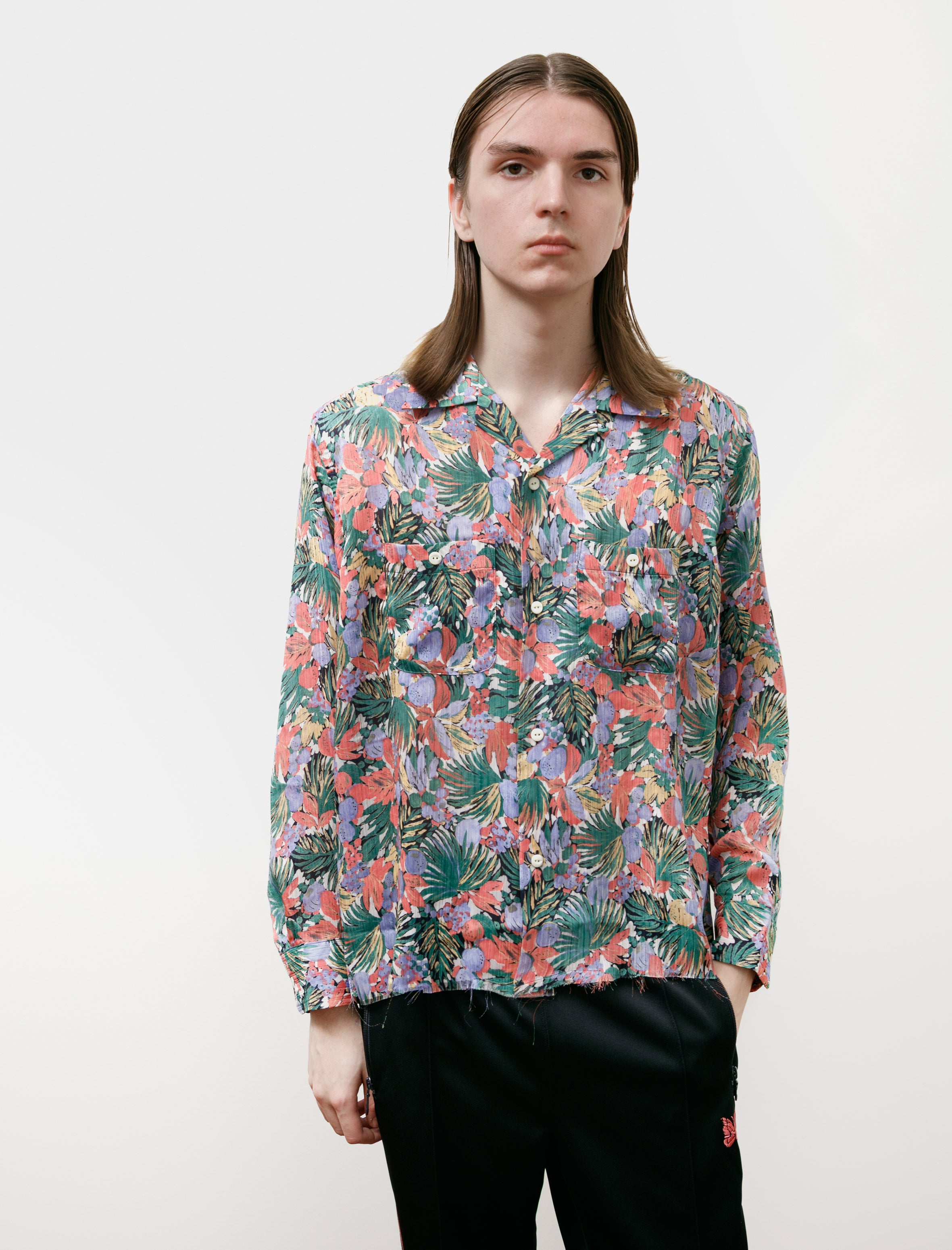 Needles Cut Off Bottom One-Up Shirt Floral