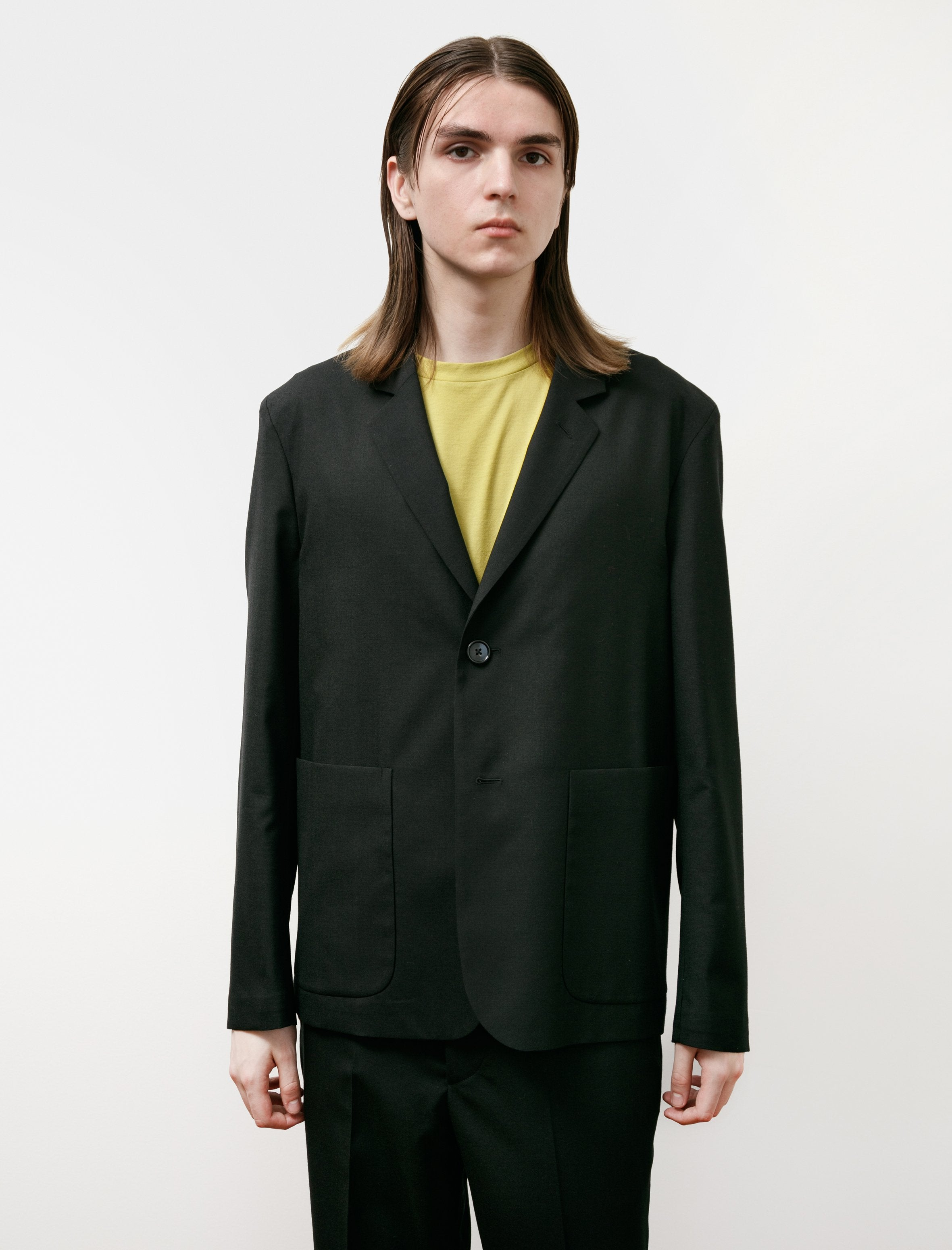 Lemaire Wide Overcoat Mastic