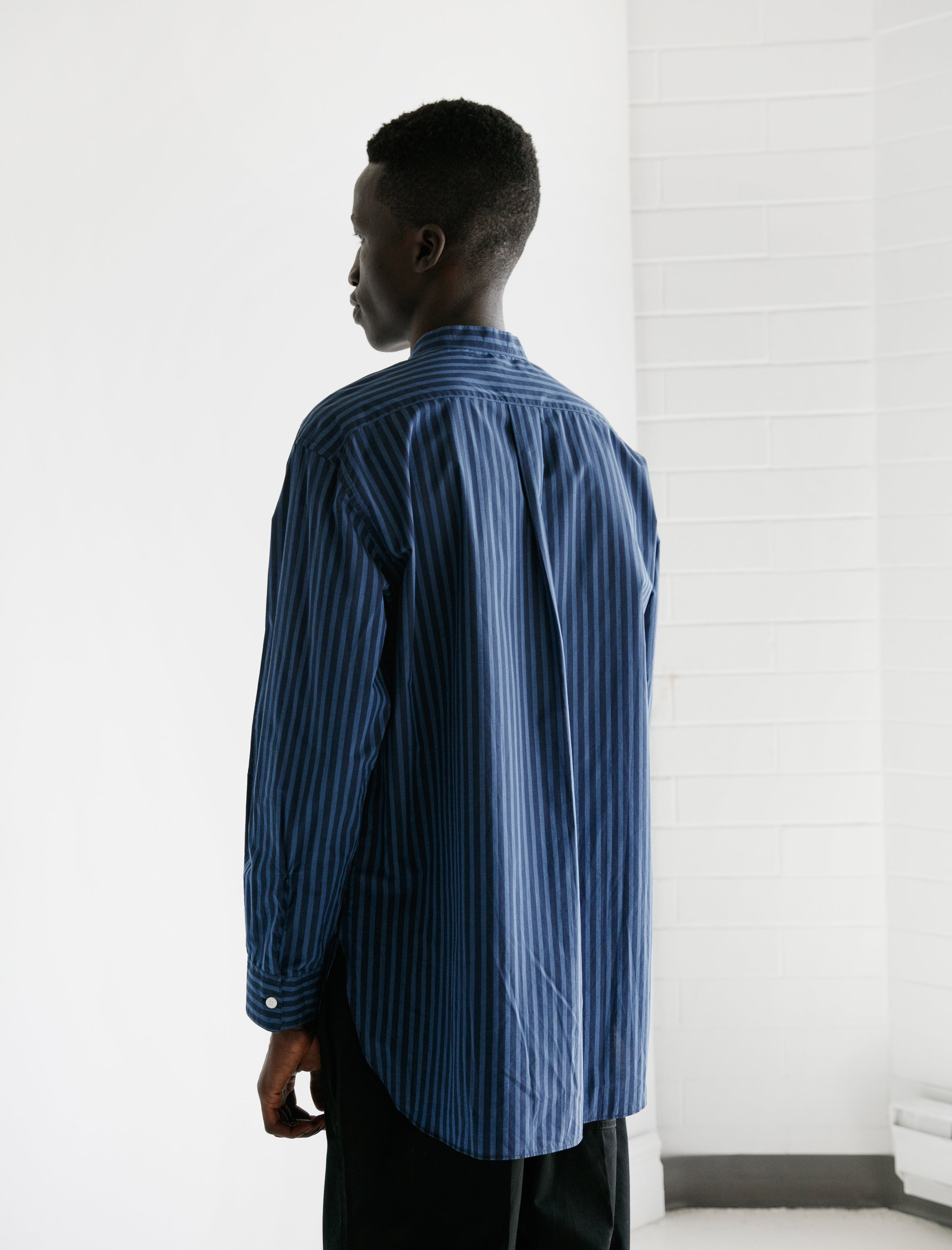 CristaSeya Mao Shirt II Blue Navy Stripes