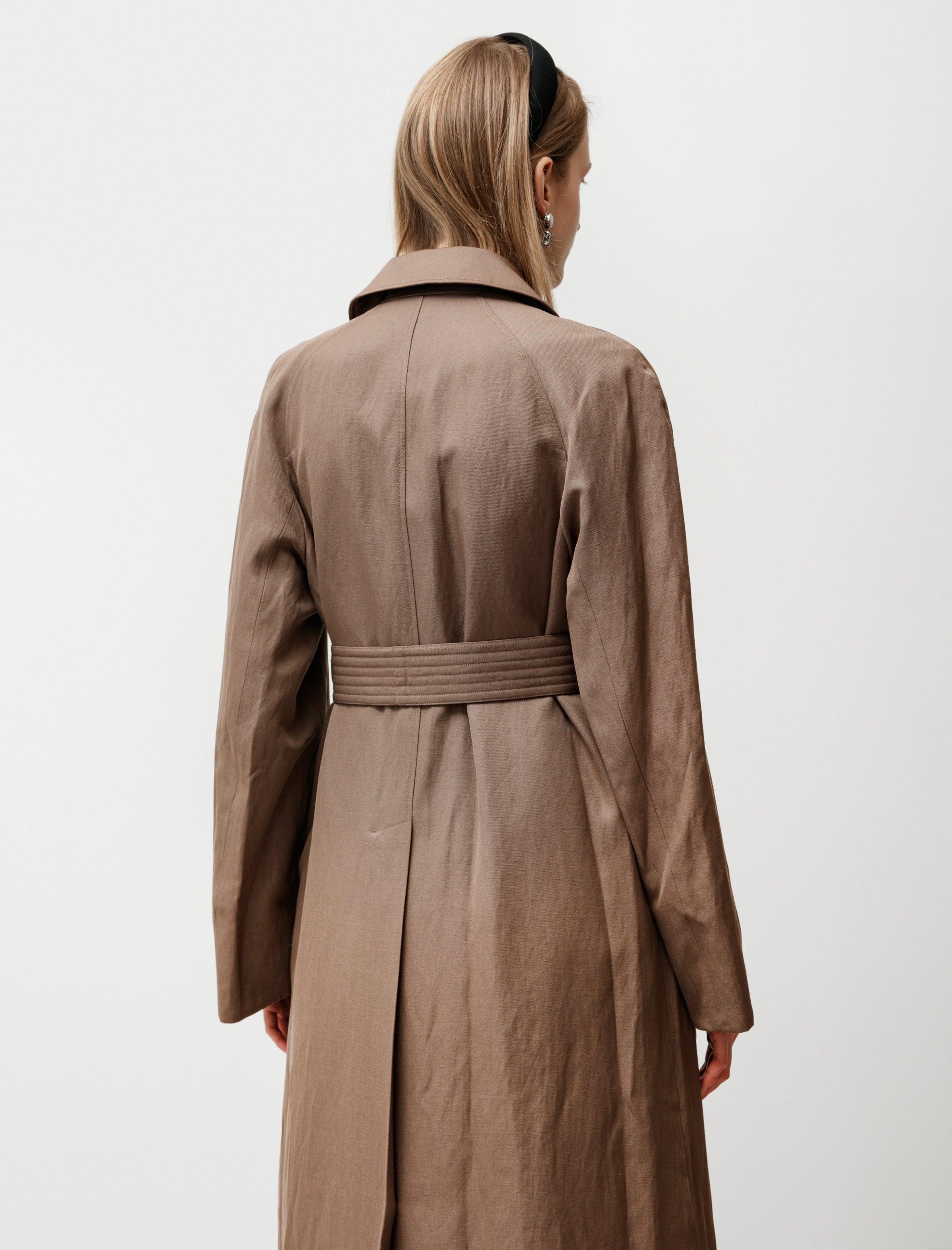 Lemaire Straight Coat Kraft Brown