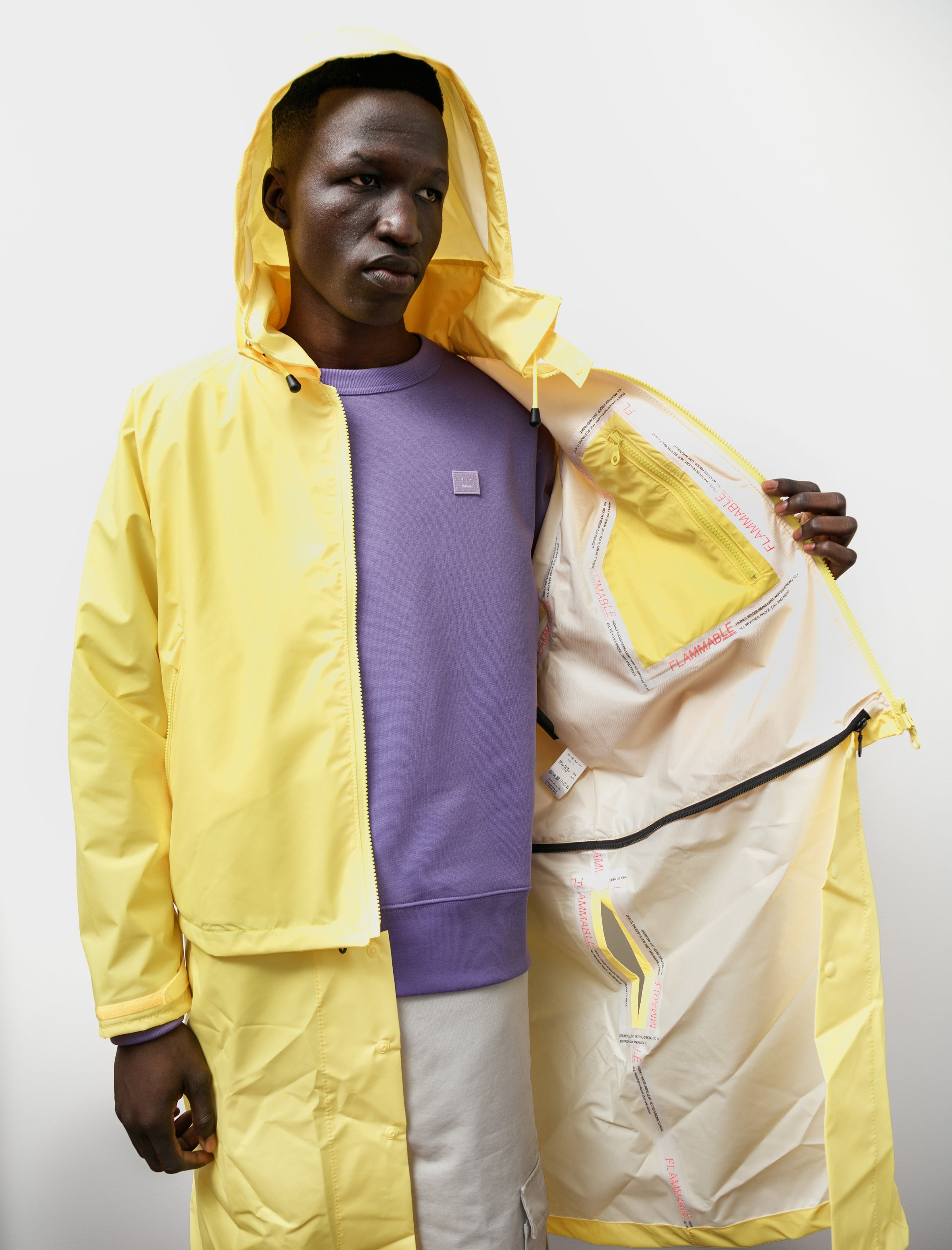 Phingerin Shed Rain Jacket Yellow