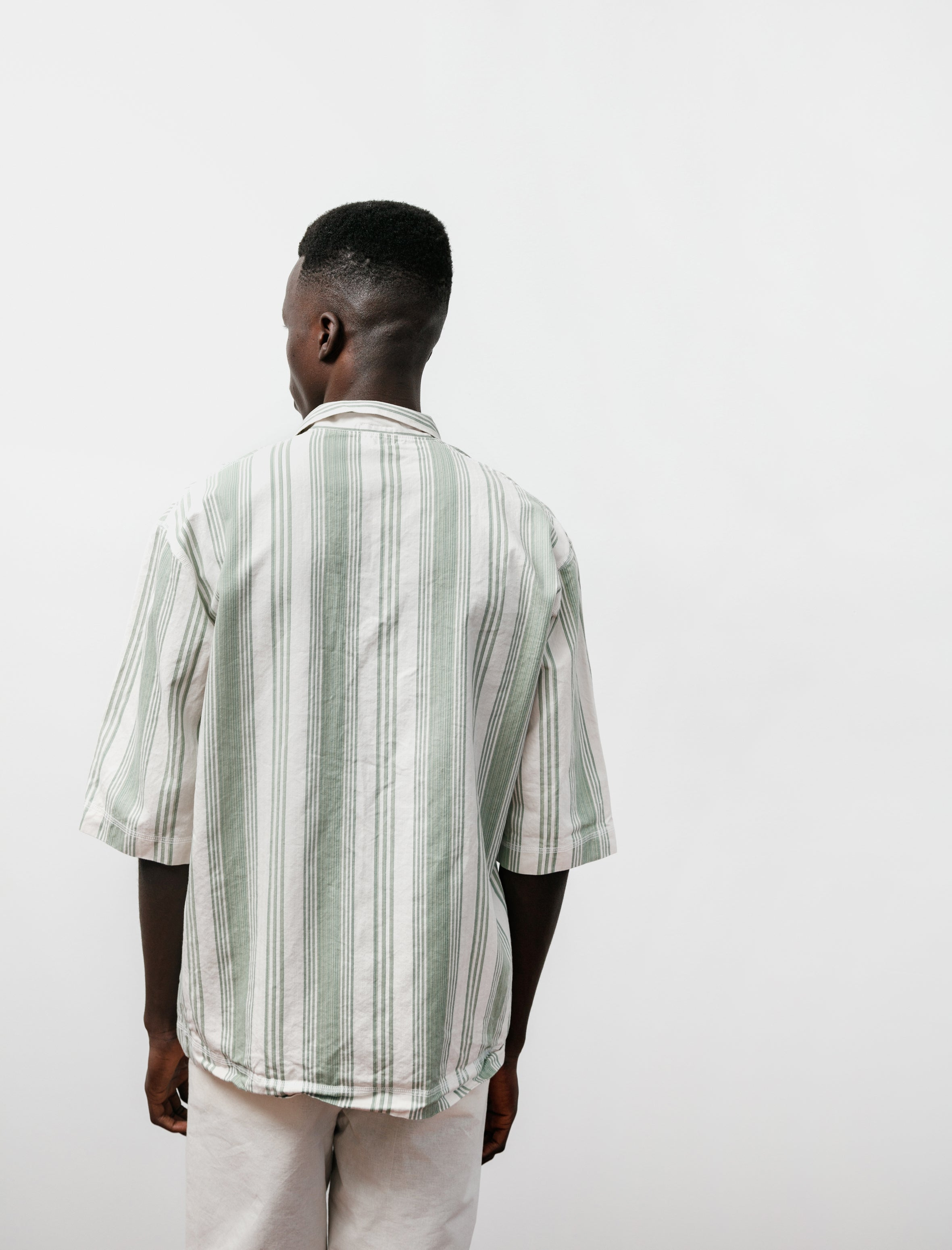 Tender WS429 Weaver's Stock SS Square Shirt Beach Stripe
