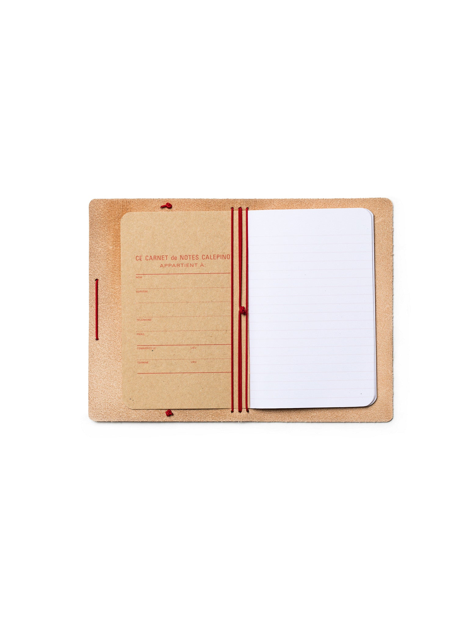 Leather Portfolio Ruled Paper no. 1