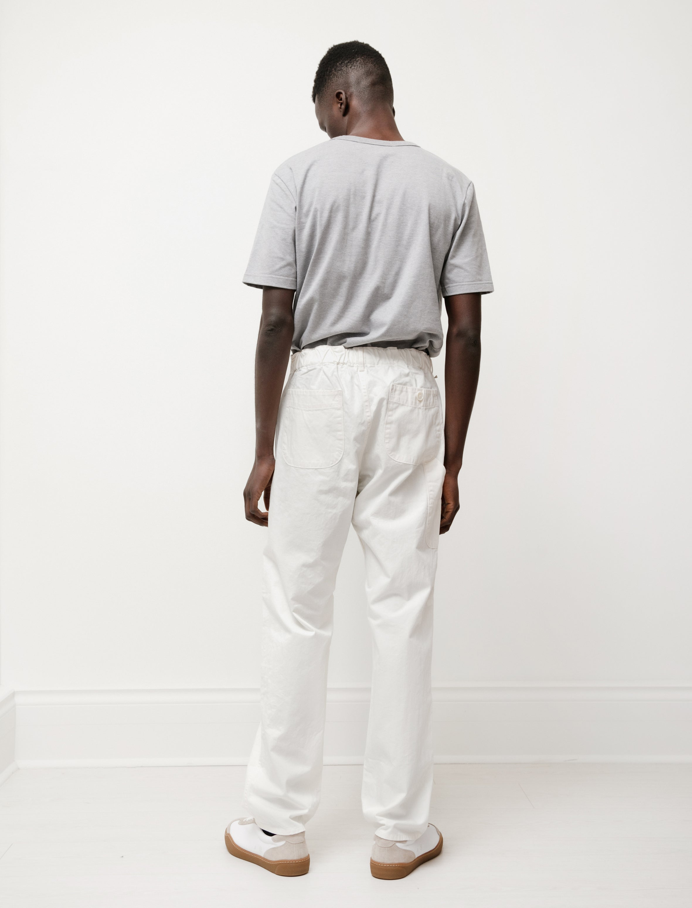 orSlow French Work Pants Ecru