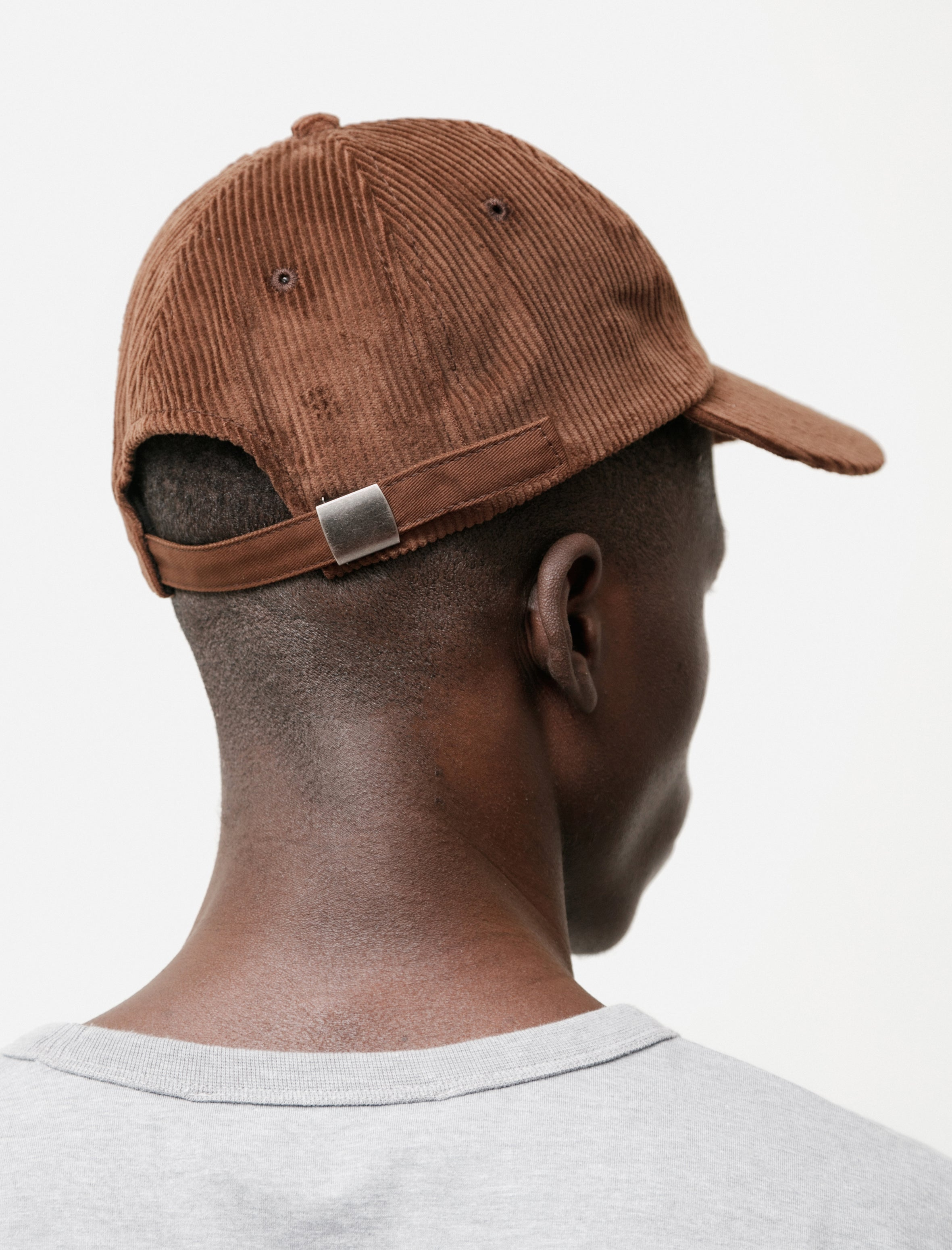 The Planet Sun Dog Hat Brown Cord