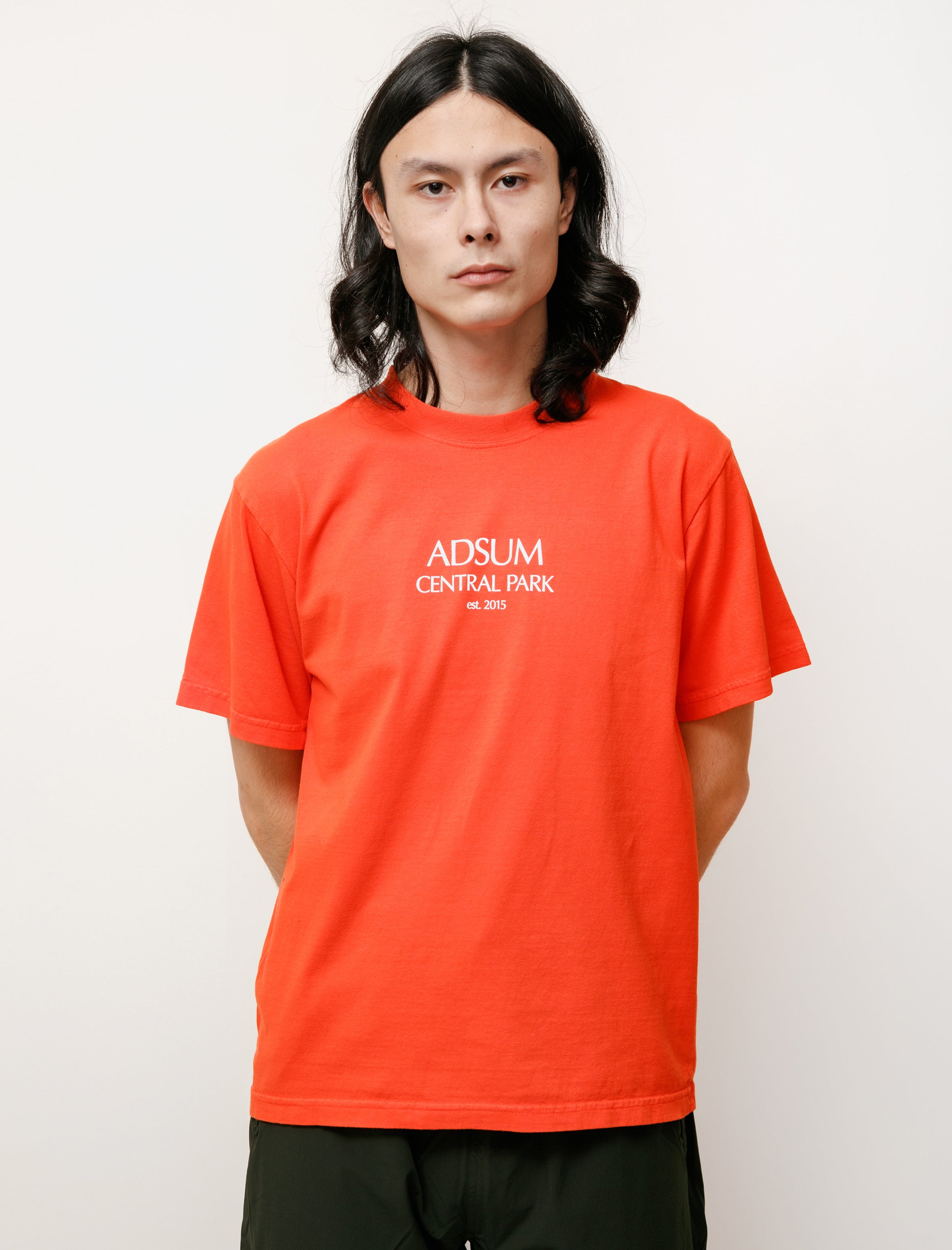 Adsum Central Park Tee Red