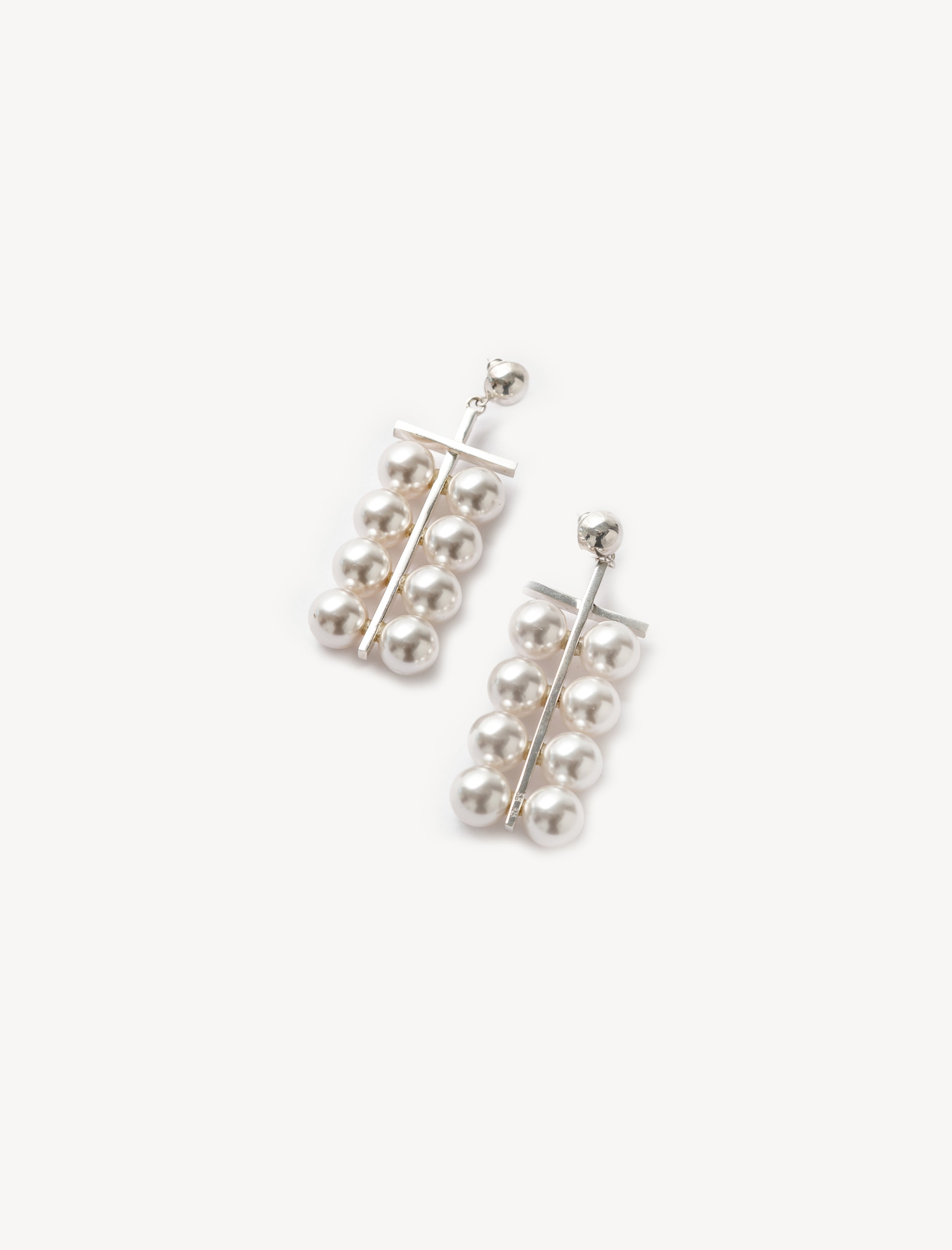 Sophie Buhai Pearl Abacus Earrings