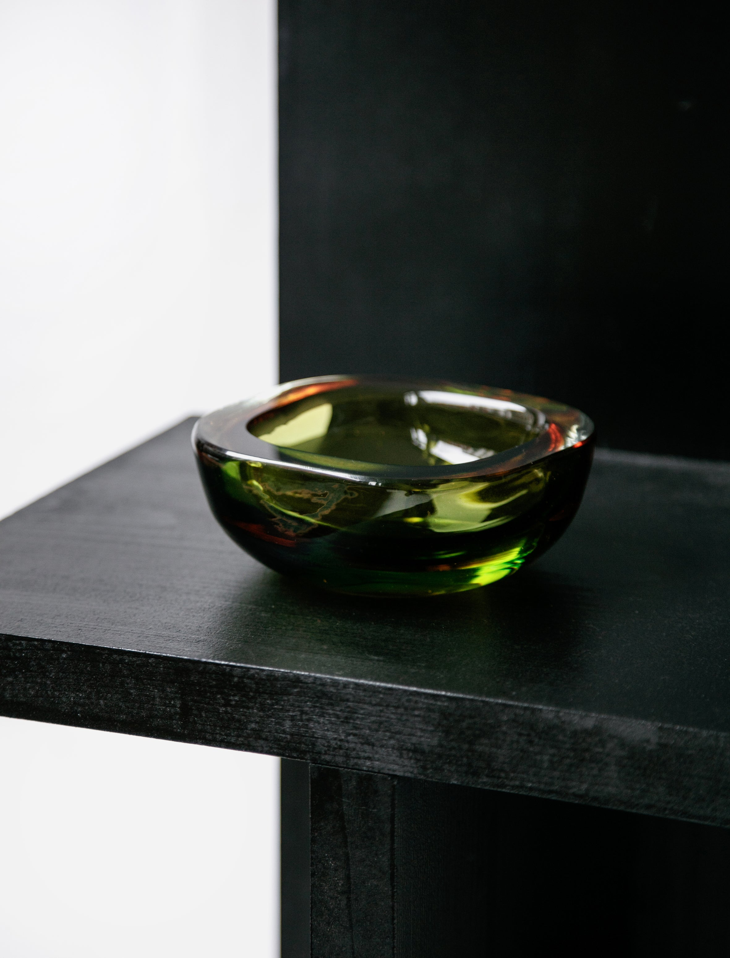 Found by Neighbour Sommerso Layered Colour Glass Dish