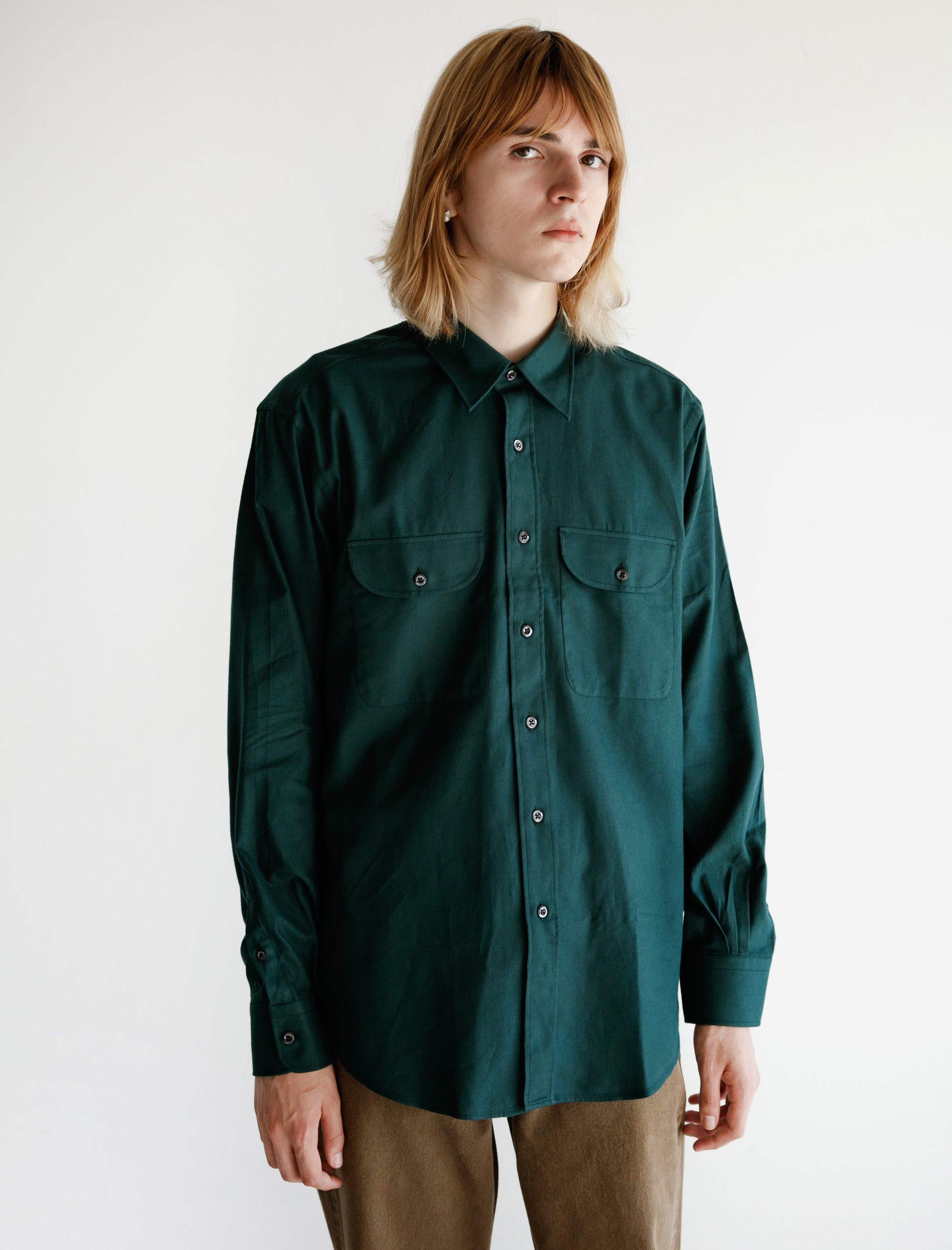 Cobra S.C. Double Pocket Shirt Jag Green Flannel