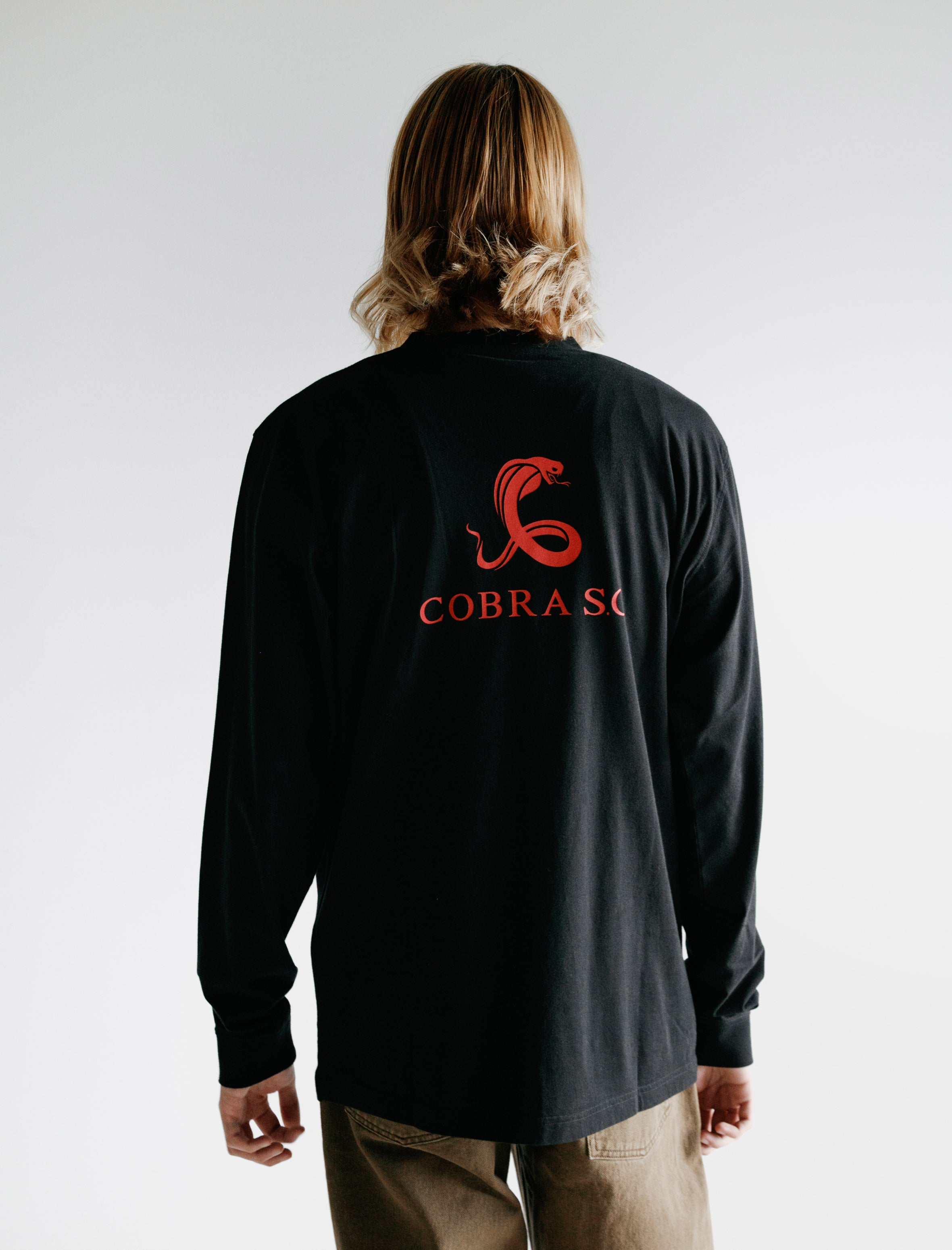 Cobra S.C. Long Sleeve T-Shirt Black Jersey