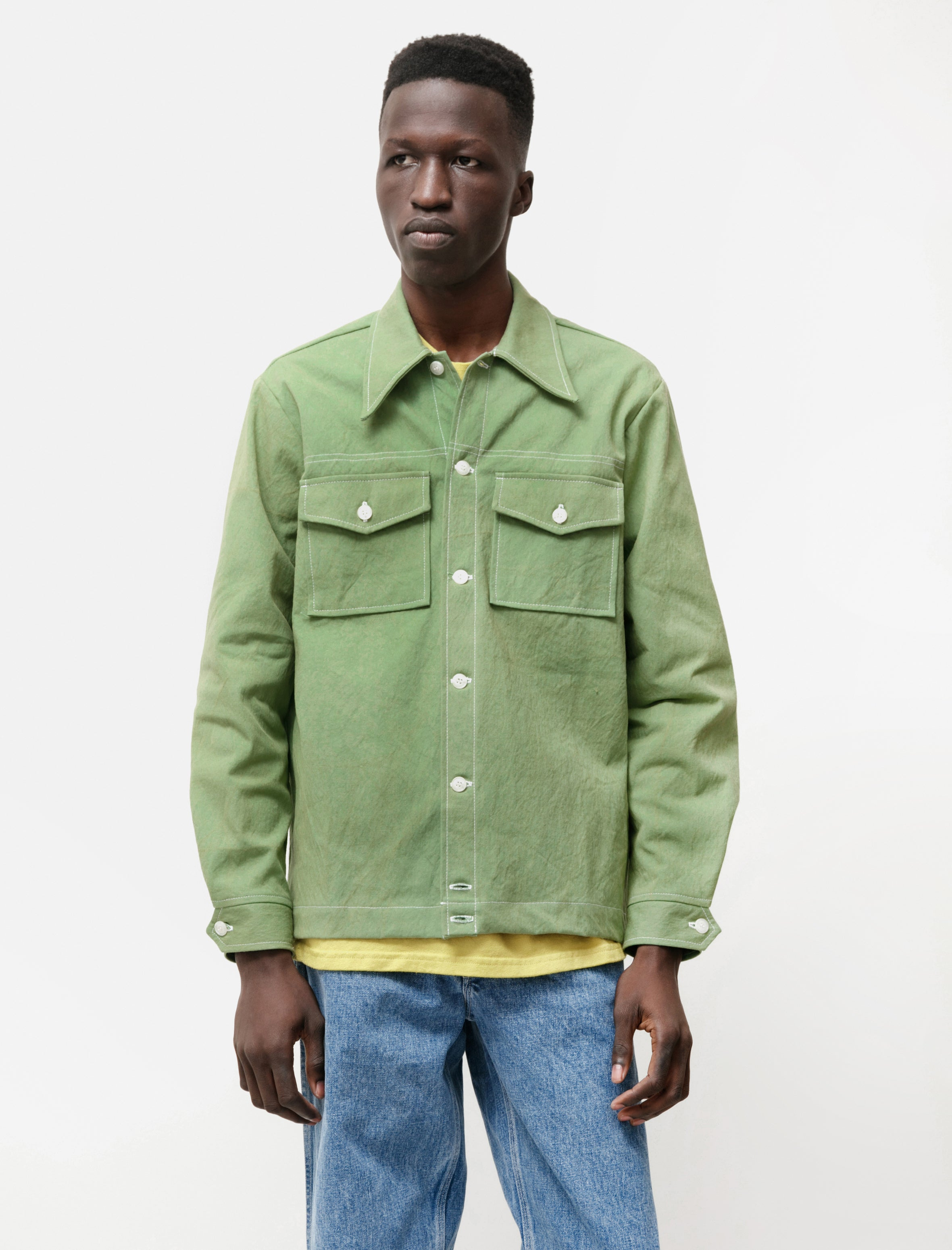 Paa Rodeo Shirt Lime