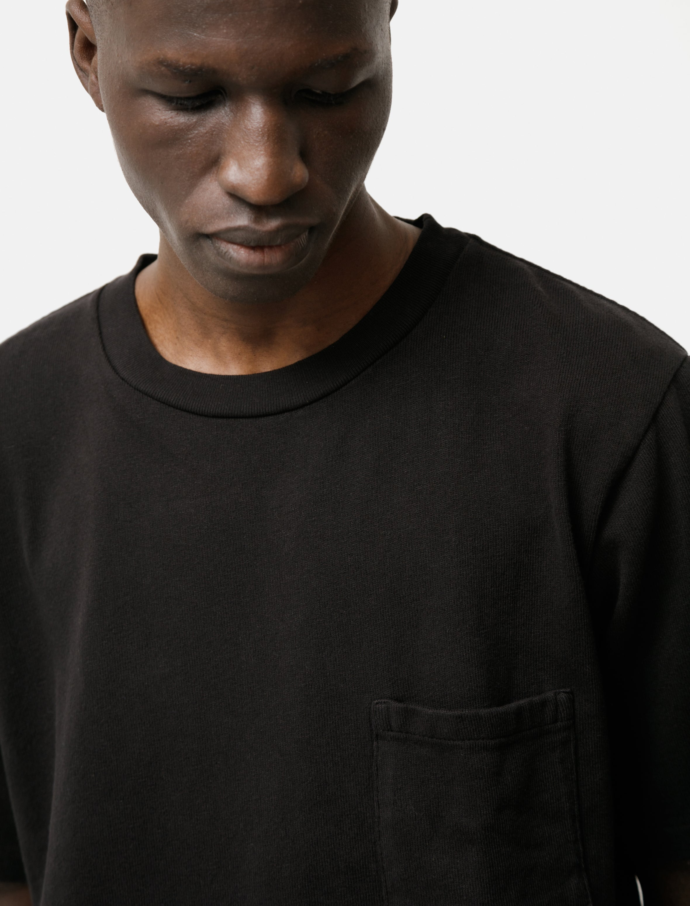 Paa SS Pocket Tee BlackPaa SS Pocket Tee Black
