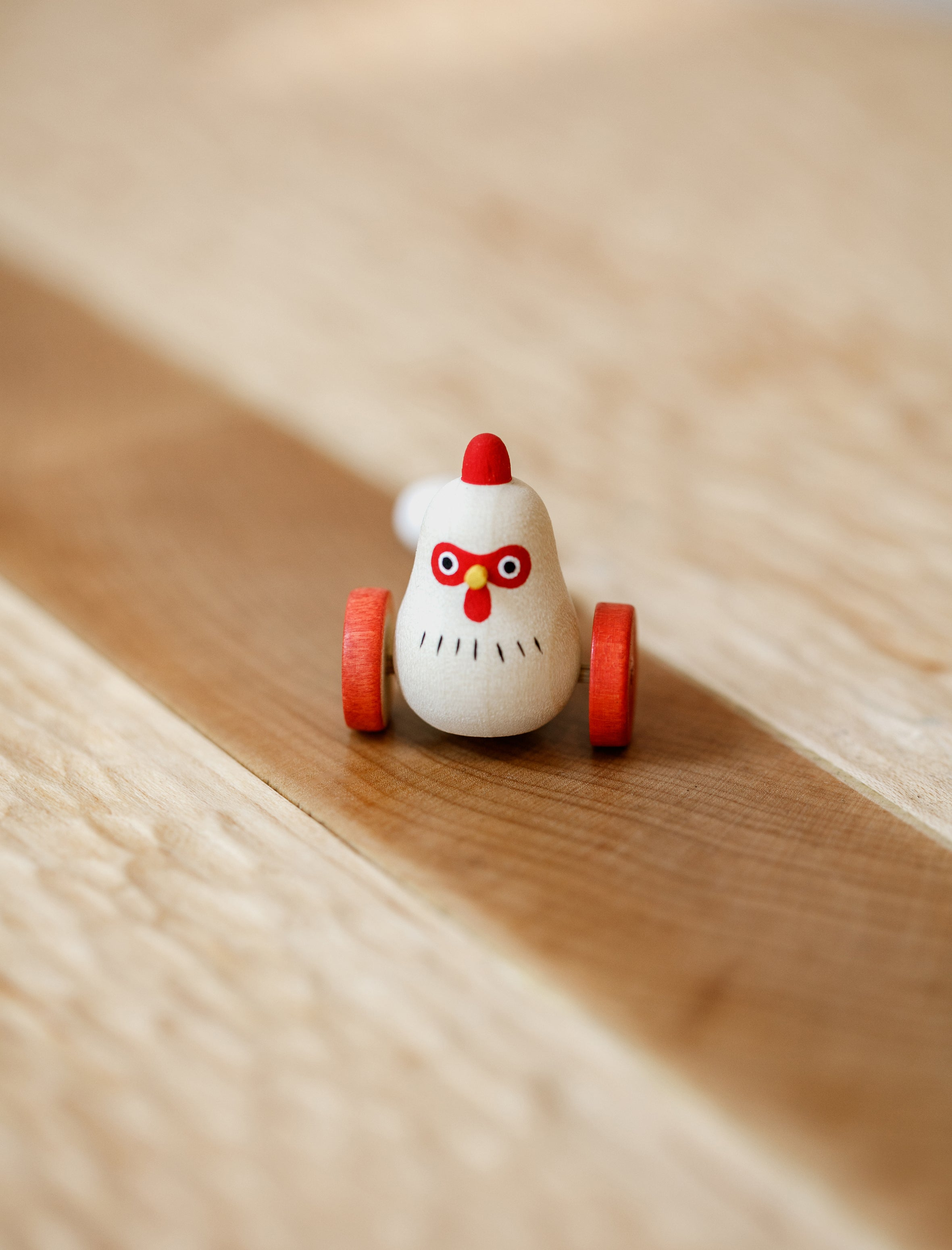 Hen + Chicks Wooden Toy