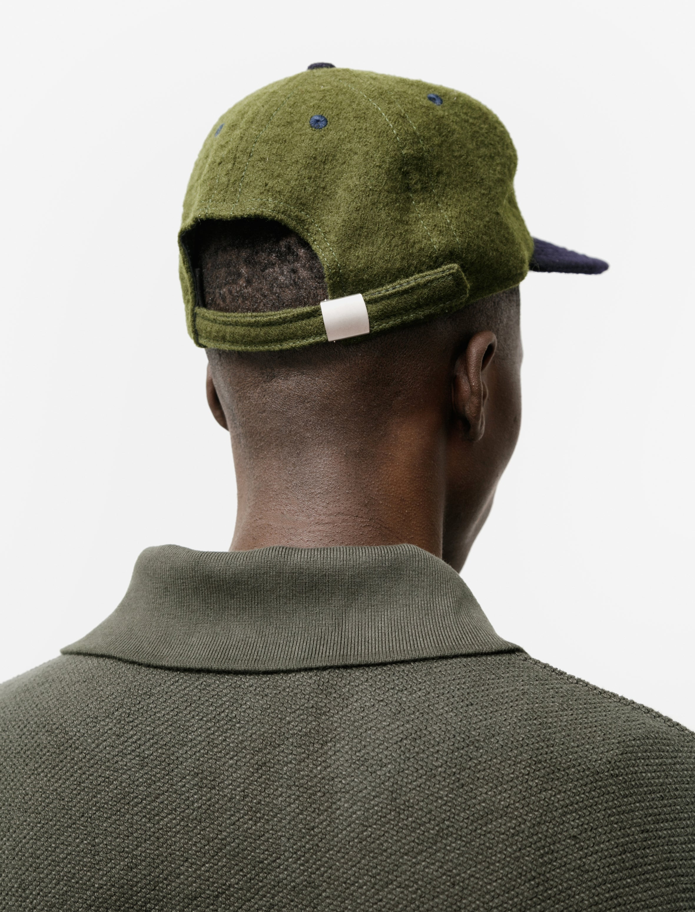 Paa Floppy Ball Cap Green Navy