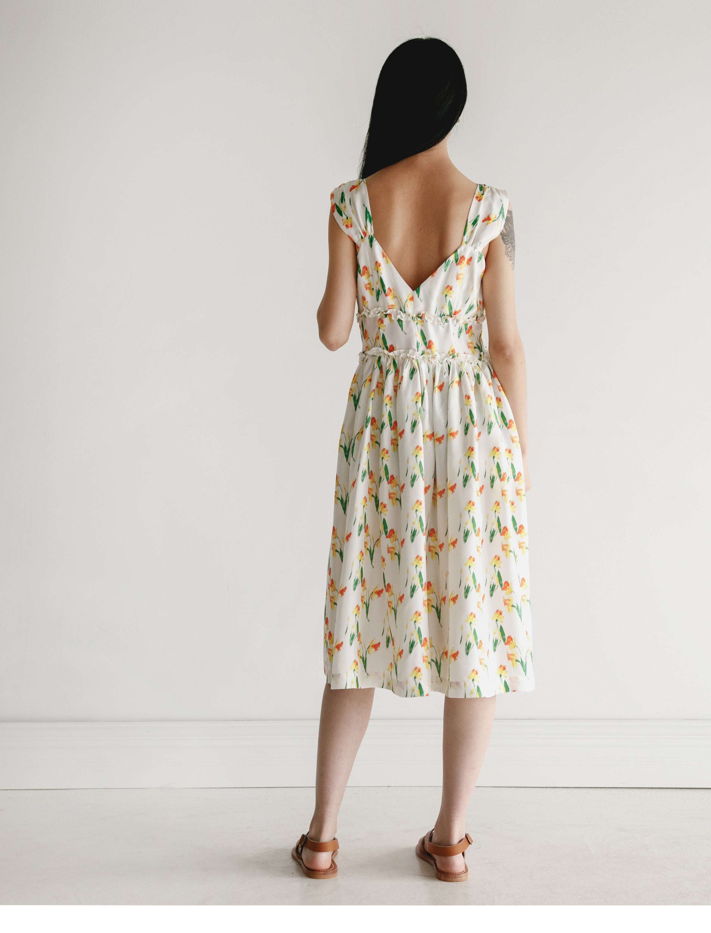 Shrimps Elara Daffodil Silk Dress