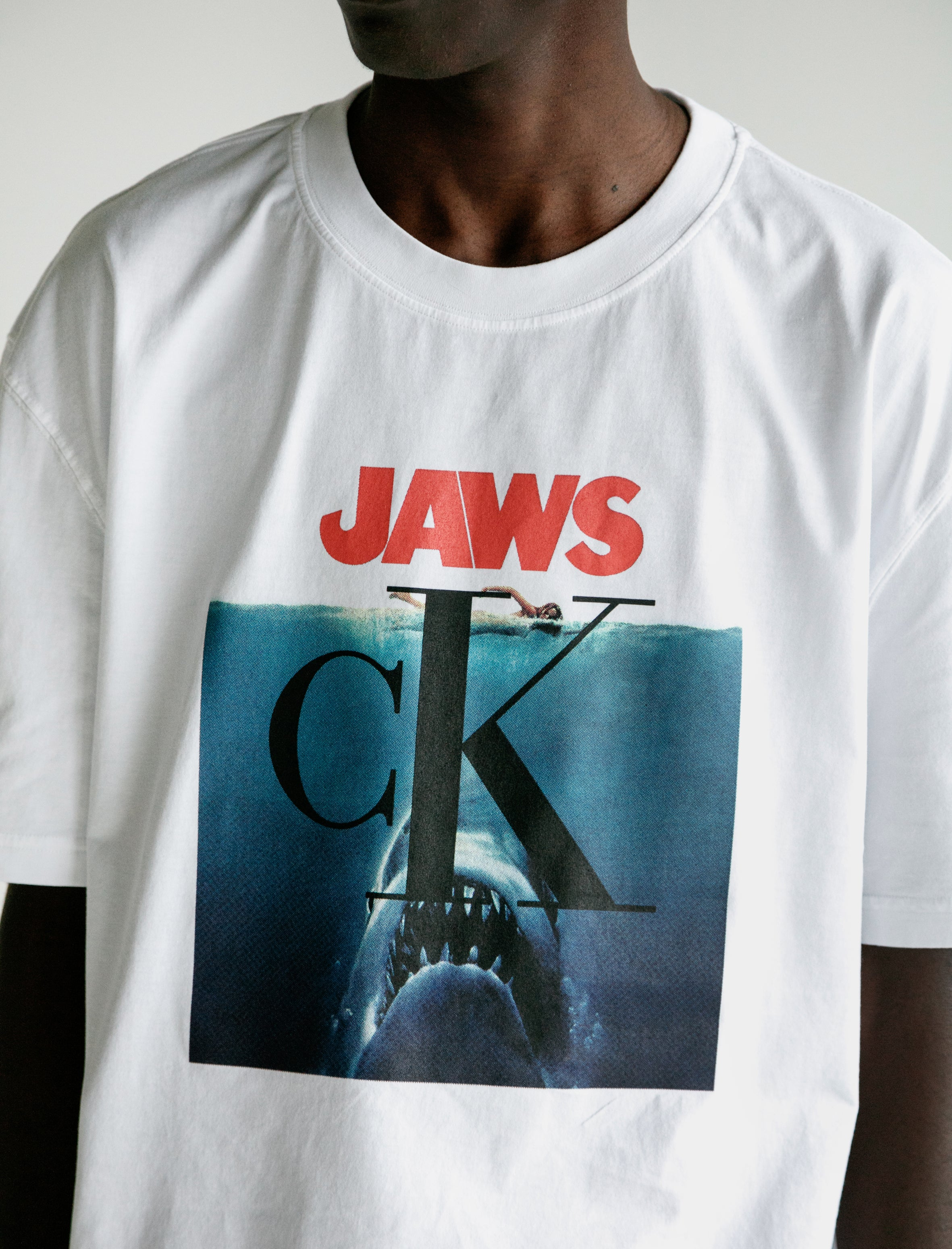 4c36535f540a Calvin Klein 205 W39 NYC Jaws T-Shirt – Neighbour