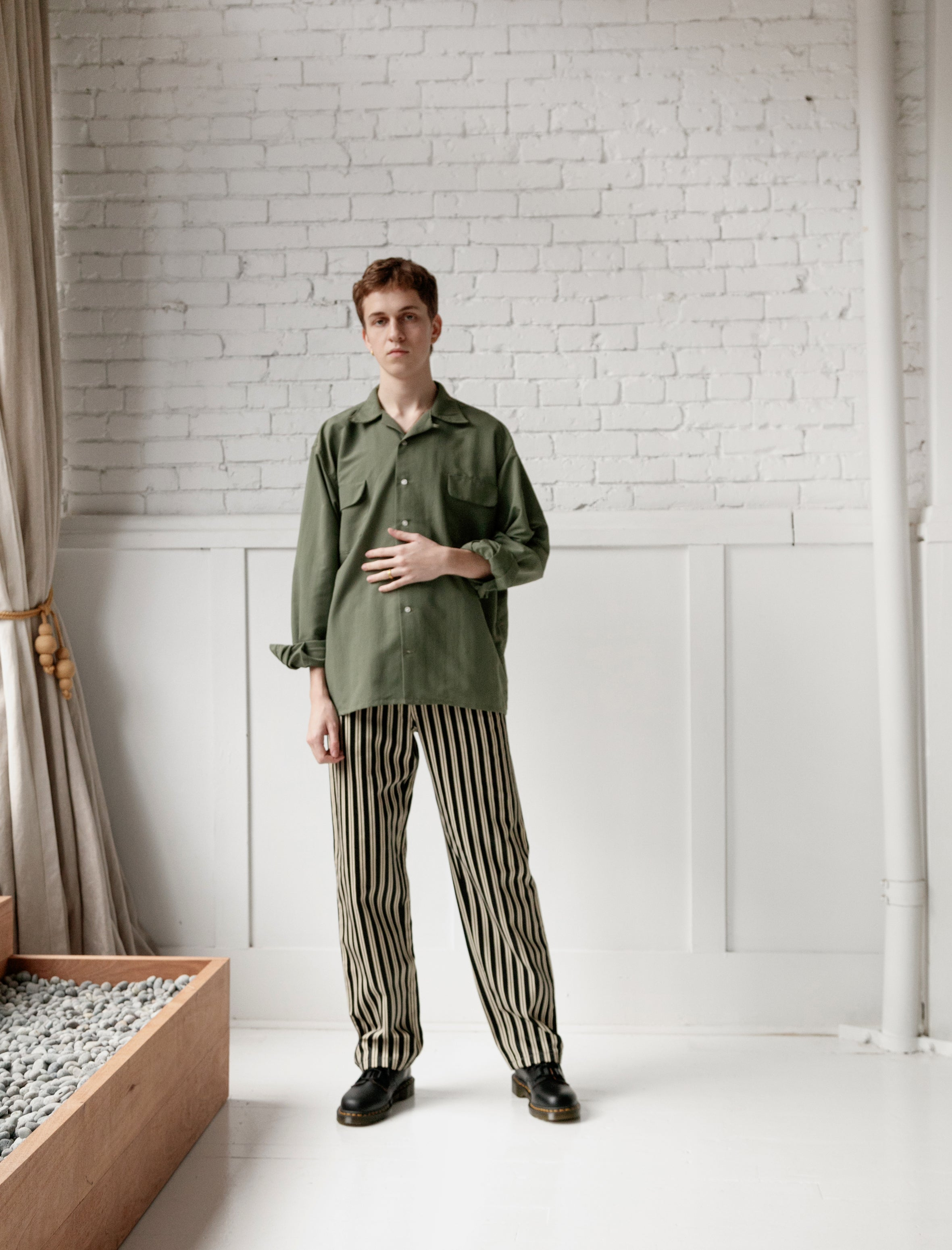 Bode New York Pant Tapestry Stripe