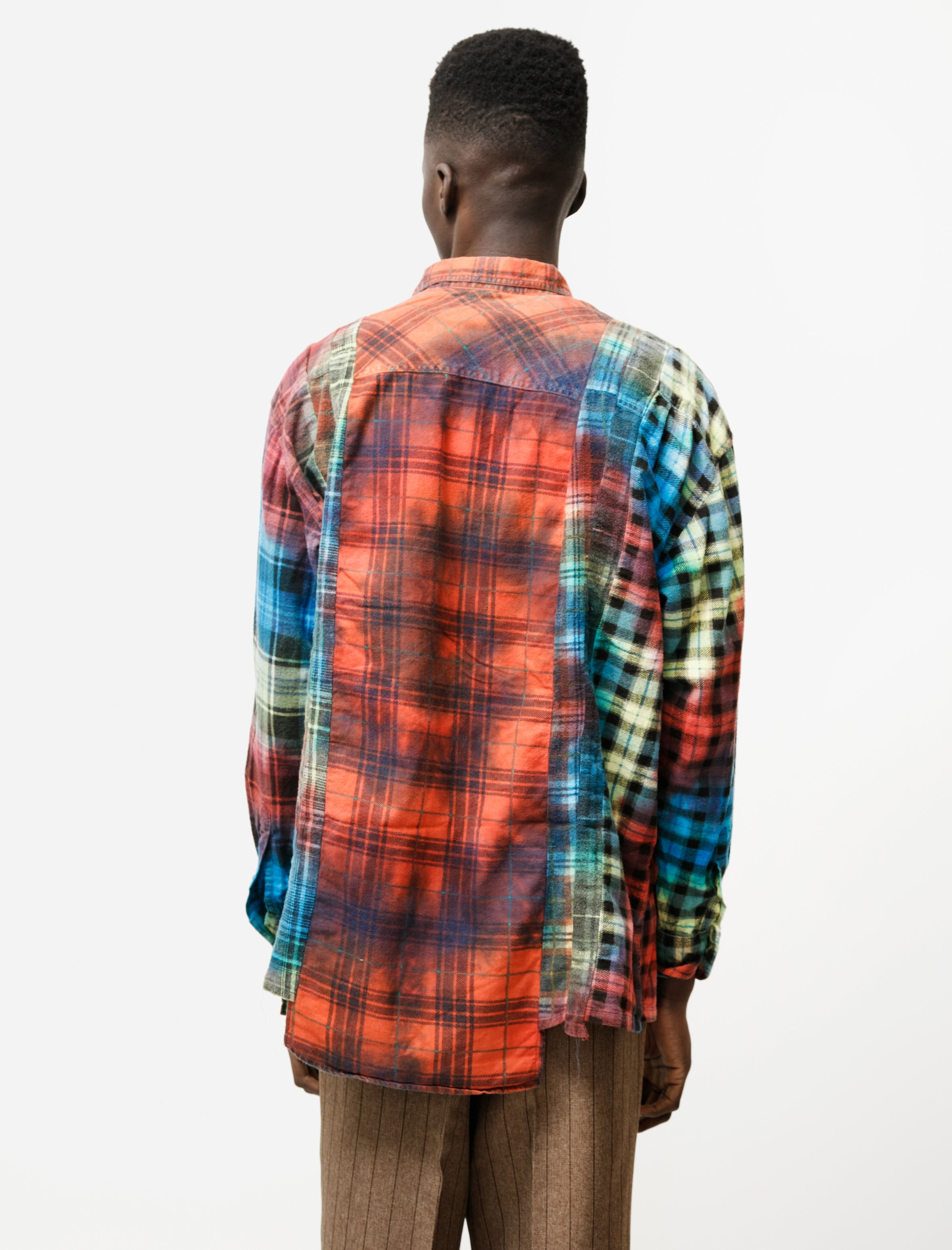Needles Rebuild by Needles Flannel 7 Cuts Tie Dye
