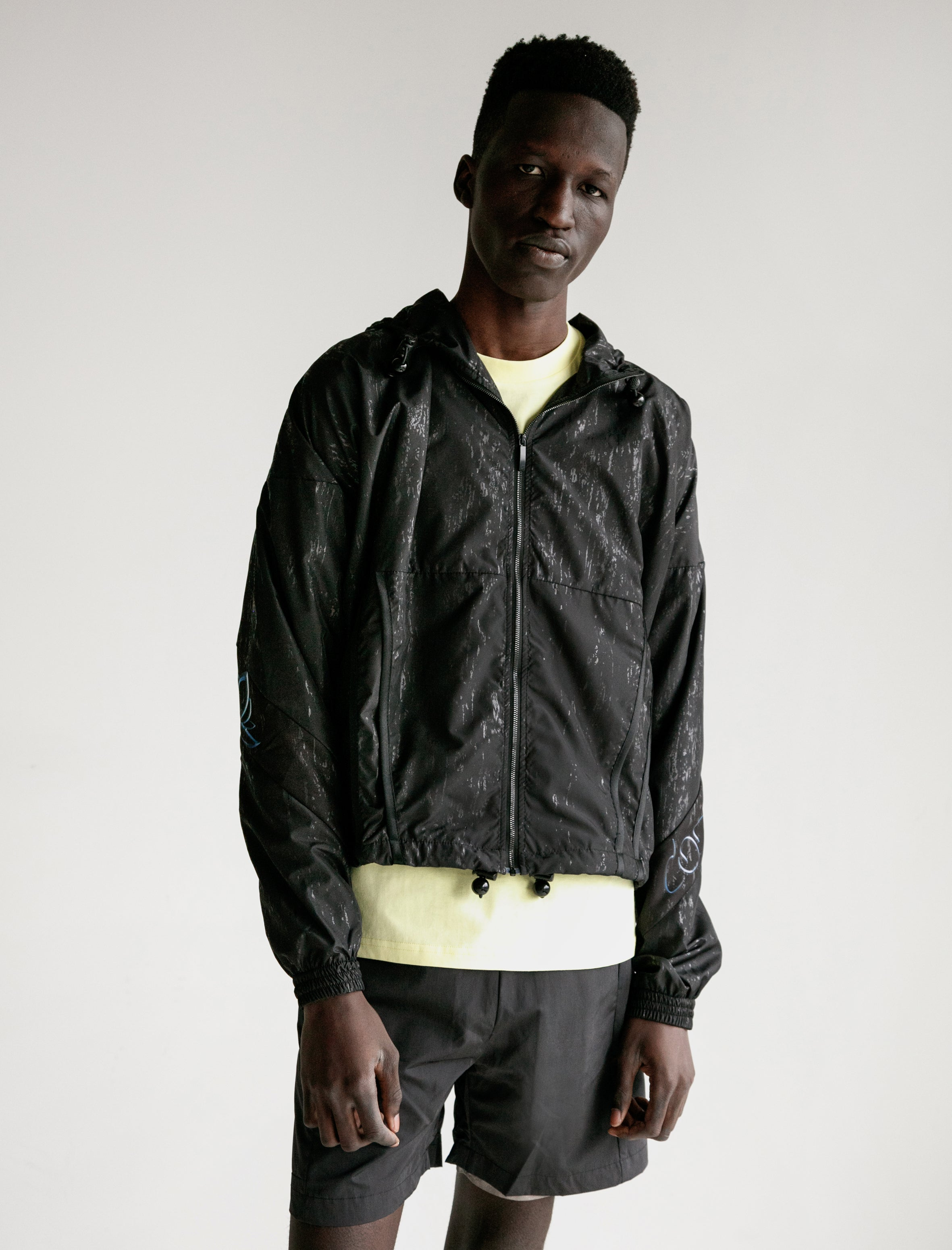 Cottweiler Lotus Hooded Jacket Black