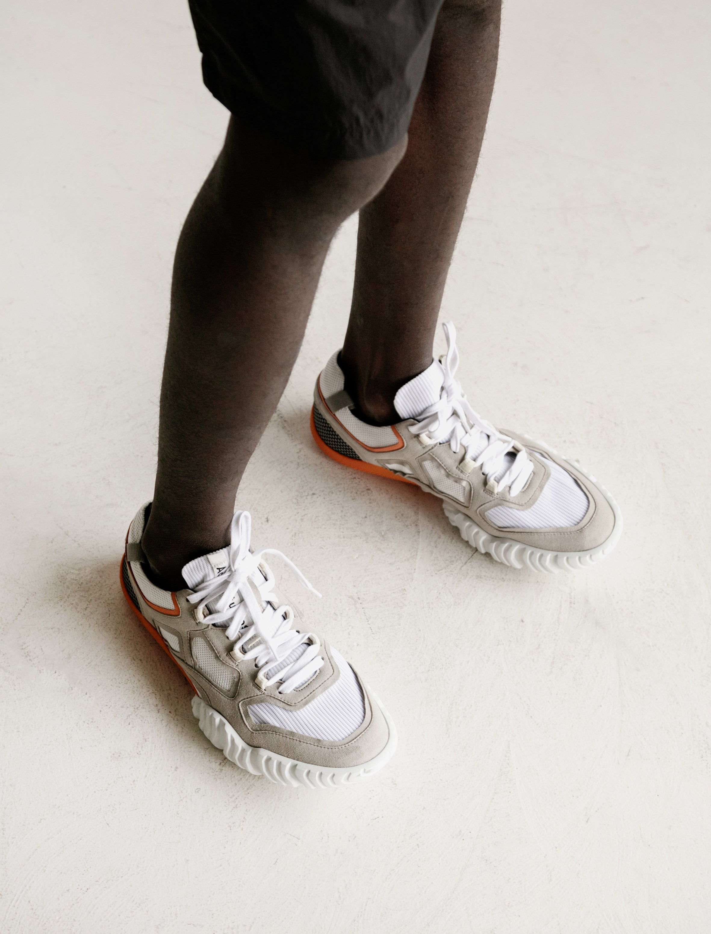 Acne Studios Berun Shoe Grey/White