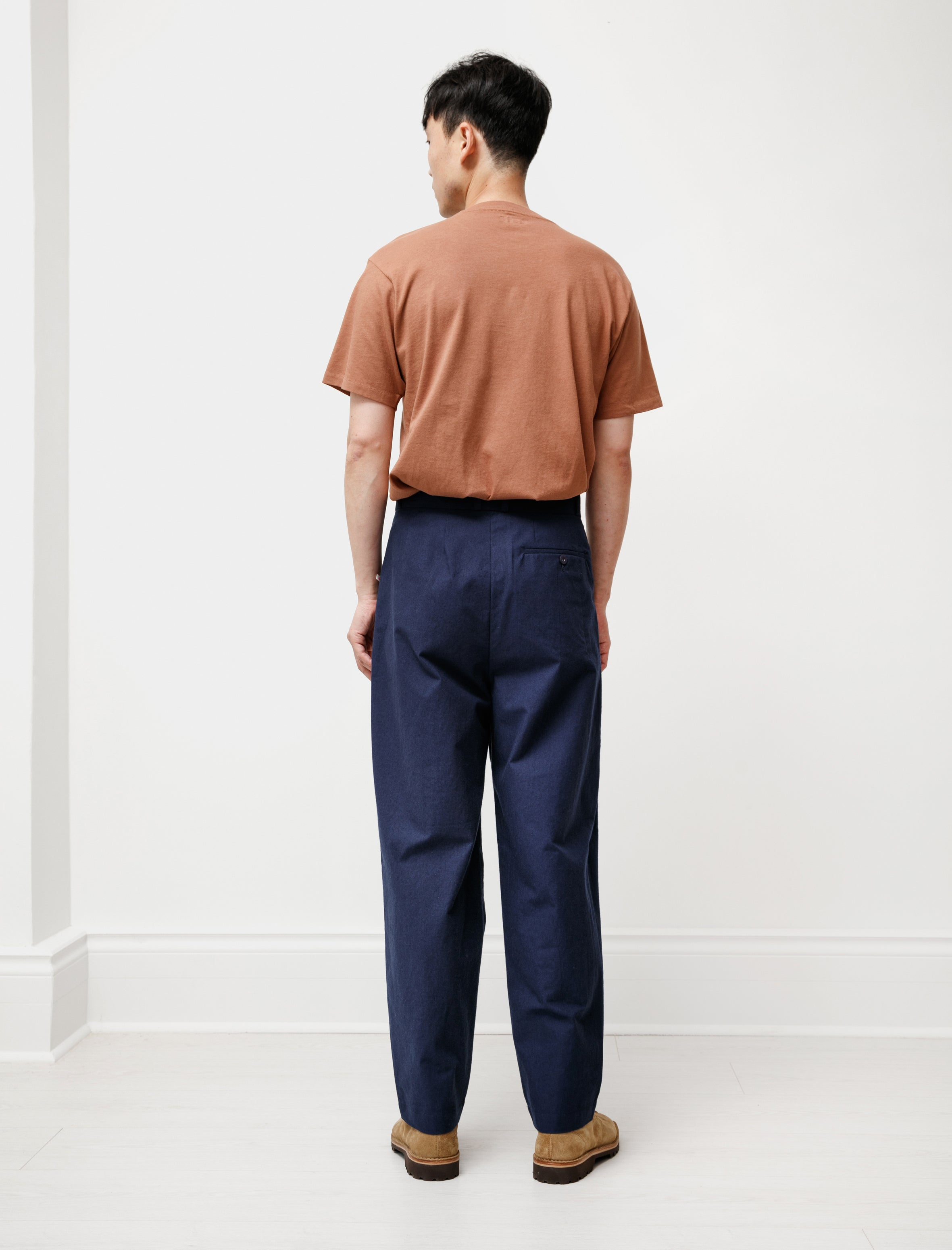 Frank Leder Baltic Blue Dyed Trouser