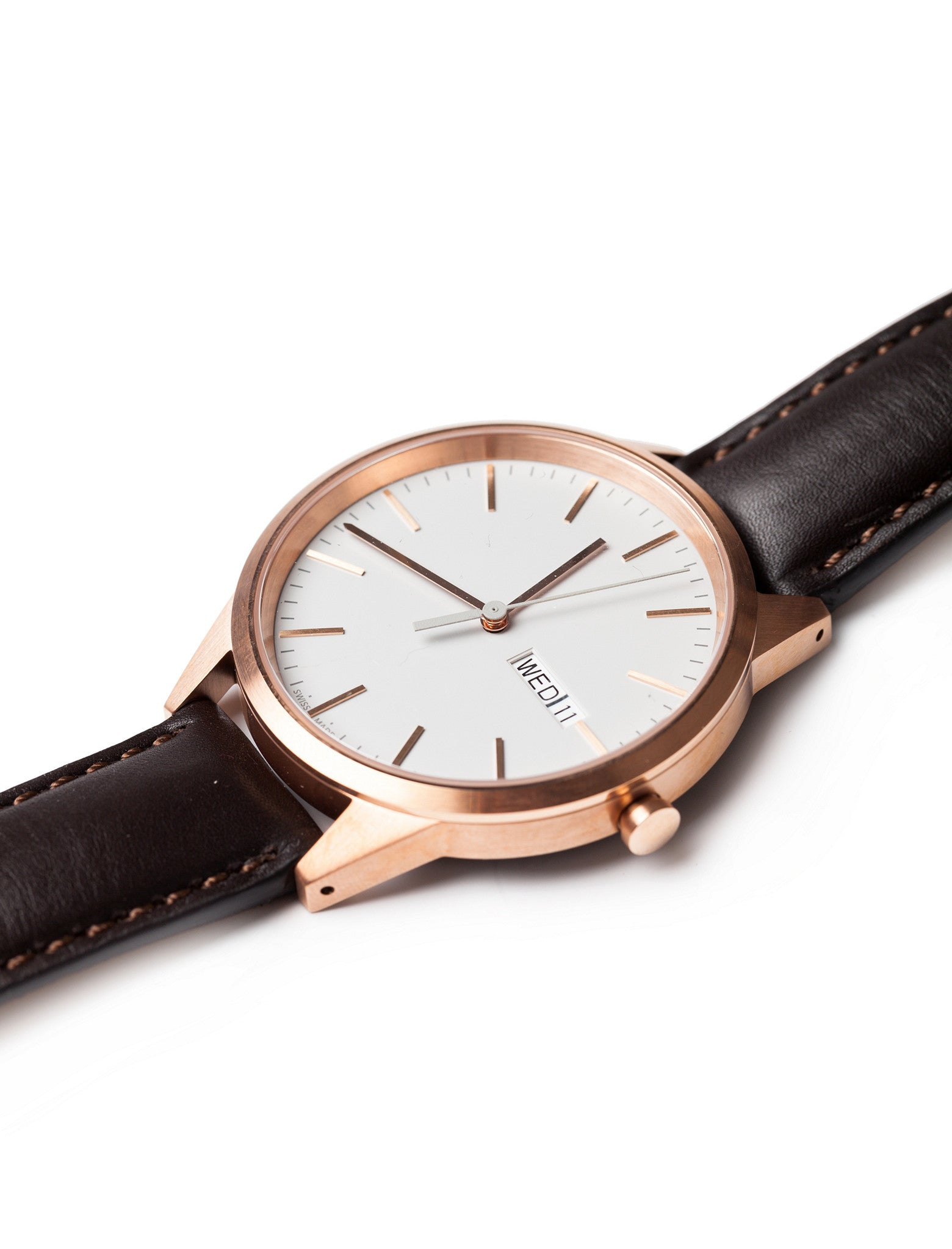 C40 Calendar Watch PVD Rose Gold