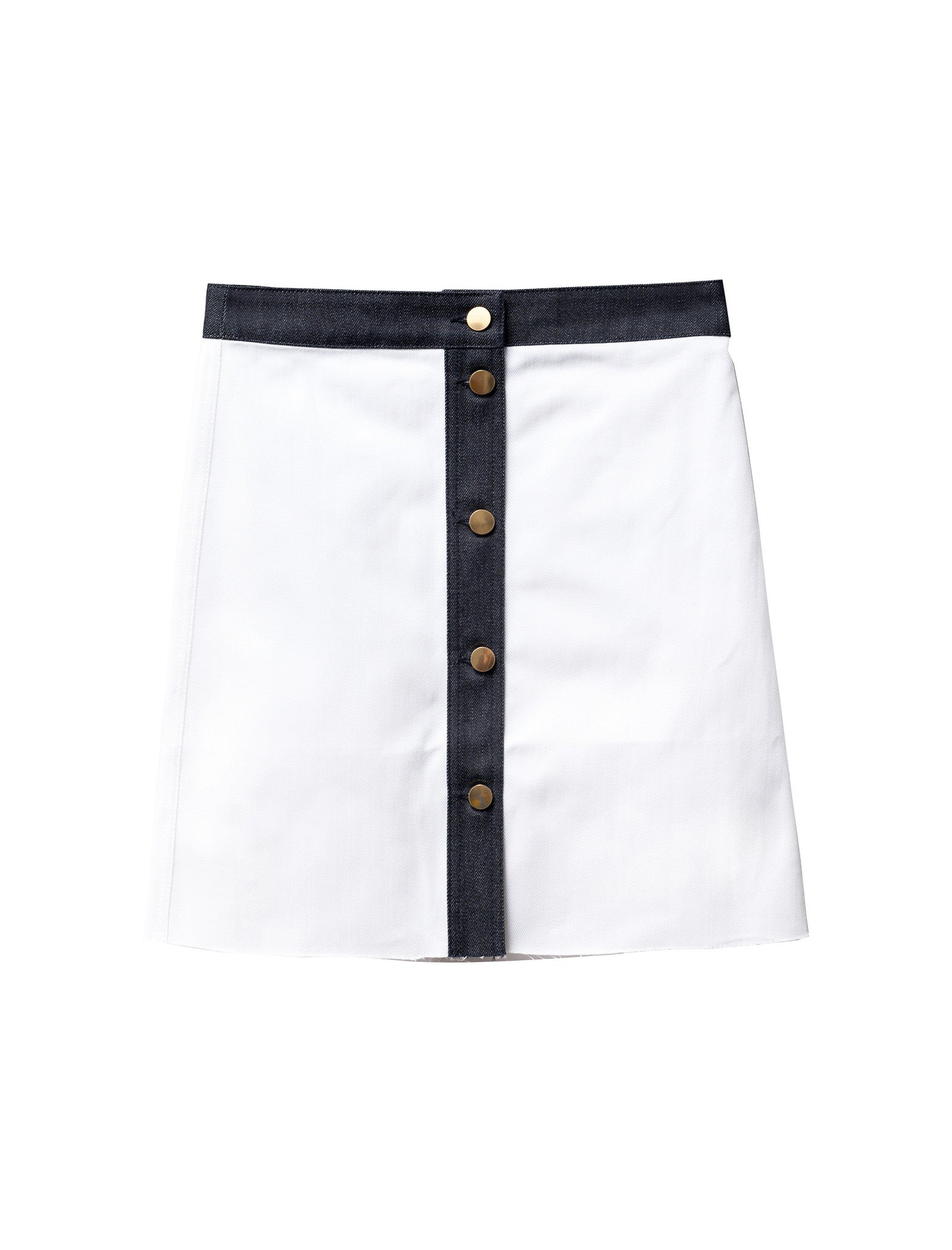 Etienne Deroeux Leona Denim Skirt