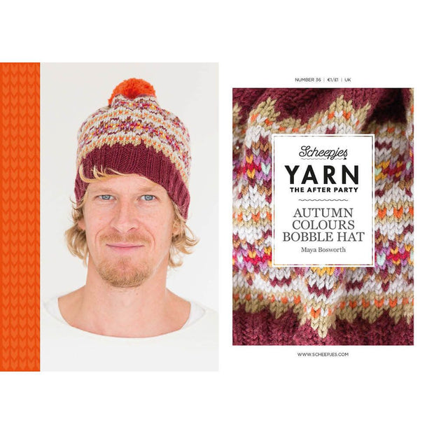 Autumn Colours Bobble Hat