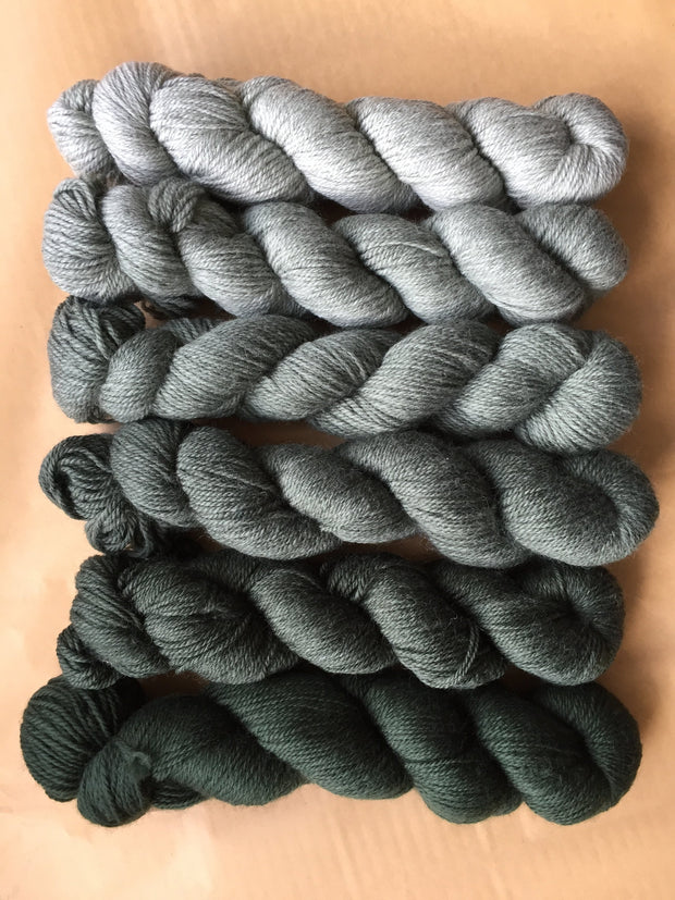 Knit By Numbers: 6 shade sets