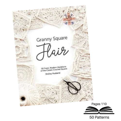 Granny Square Flair Pattern Book