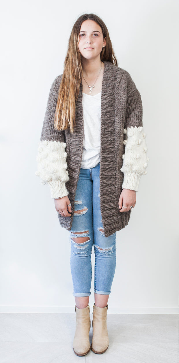 Cream Puff Cardigan Pattern