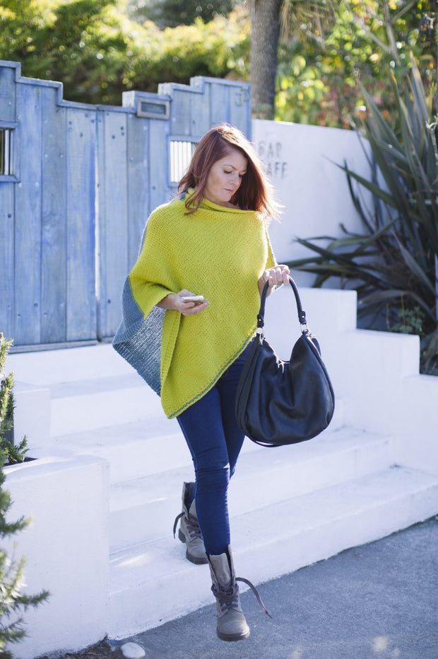 Jeanette Poncho Cape Pattern