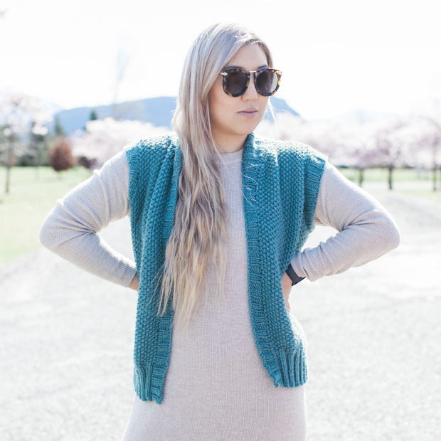 Slouchy Sunday Vest Pattern
