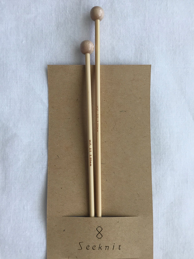 KA Seeknit Knitting Needles Single Point Pair (30cm long) 2.00mm - 4.50mm sizes