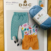 Children's Long and Short Pants Knit Project Pack (Includes Yarn + FREE Pattern)