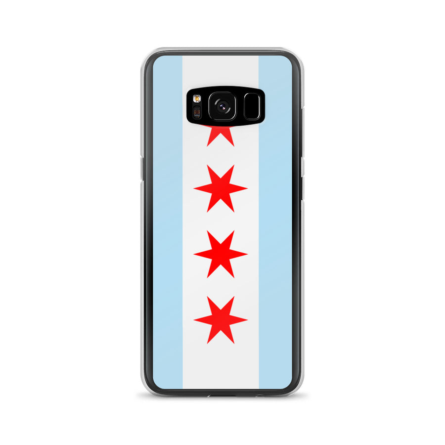 Chicago Samsung Case Flag