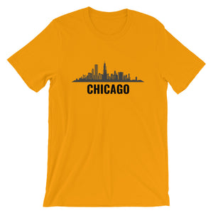 Chicago T-Shirt Unique Skyline