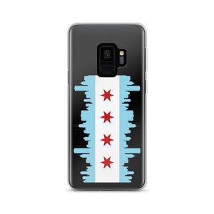 Chicago Samsung Case Flag and Skyline