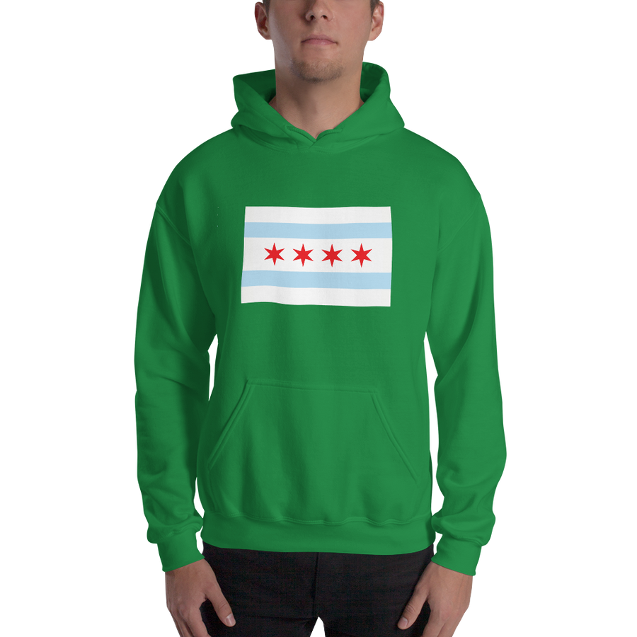 Chicago Hoodie Flag