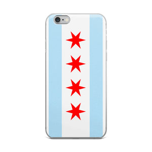 Chicago iPhone Case Flag