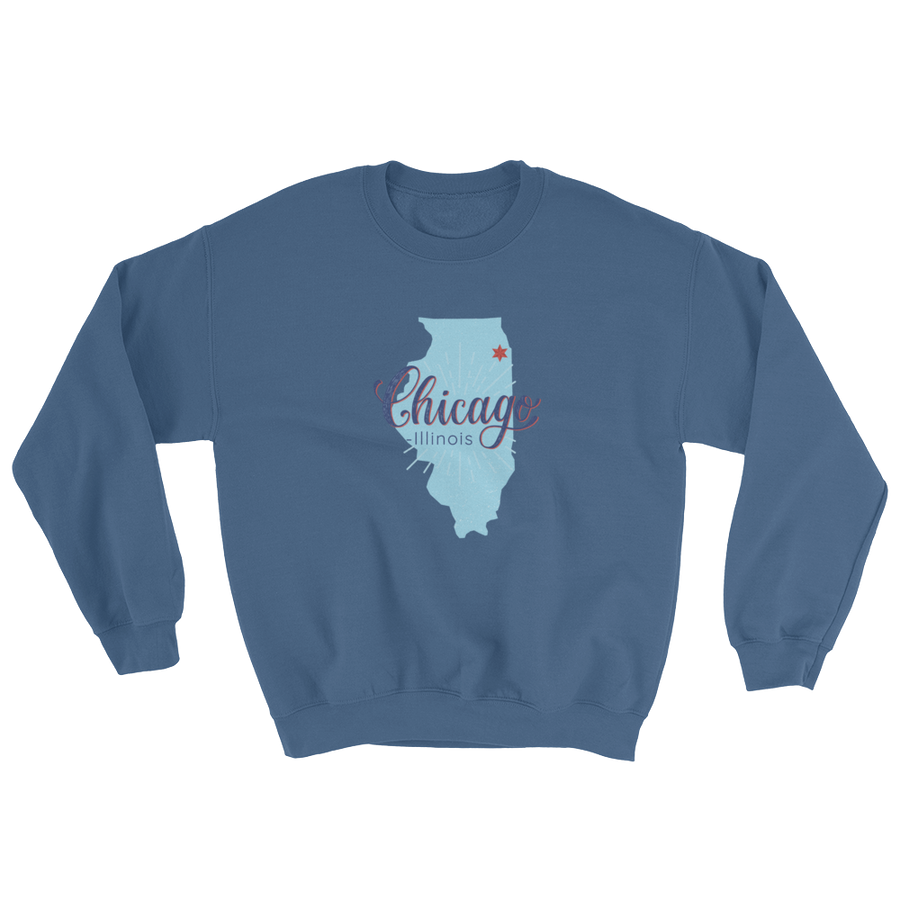 Chicago Sweatshirt Illinois