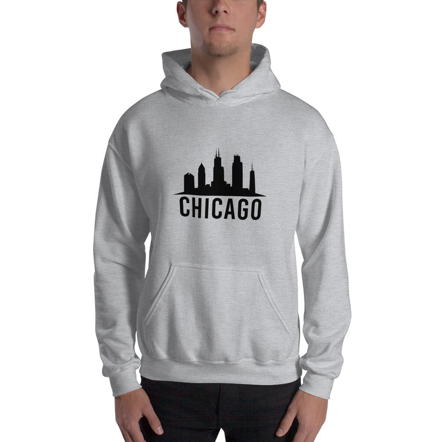 Chicago Hoodie Epic Skyline