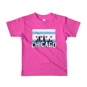 Chicago Kids T-Shirt Iconic Flag