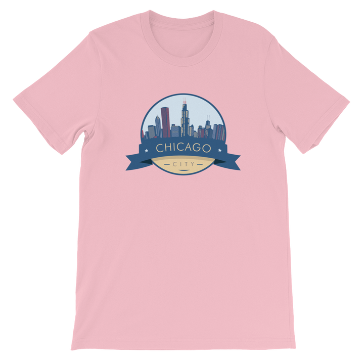 Chicago T-Shirt City Badge